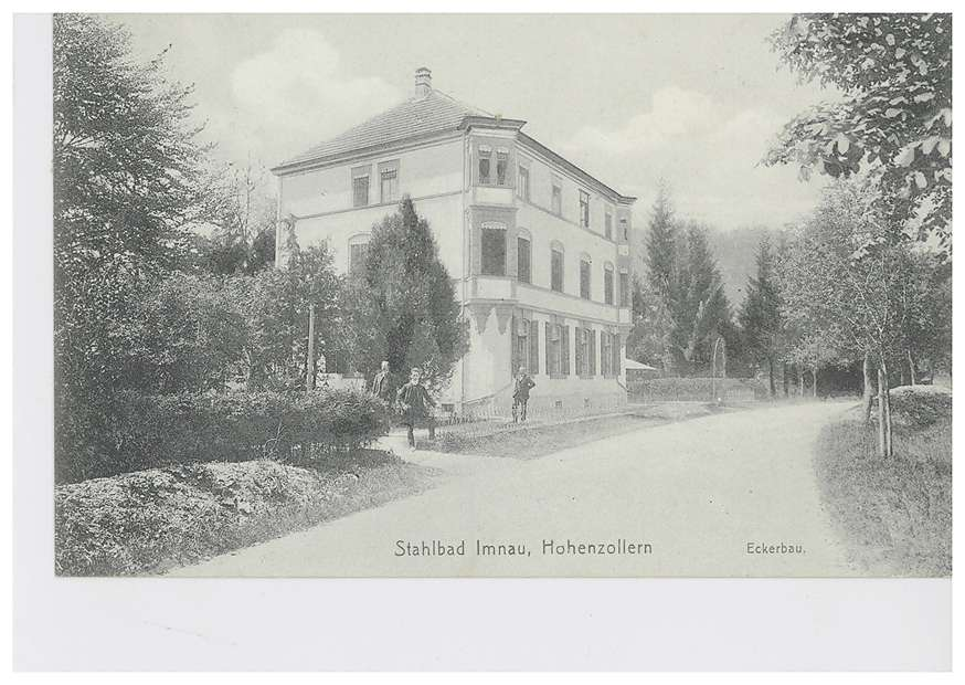 Eckerbau des Stahlbads in Imnau, Bild 1