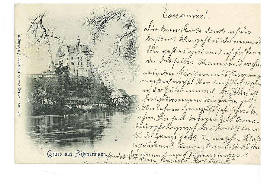 Schloss Sigmaringen und Donau, Bild 1