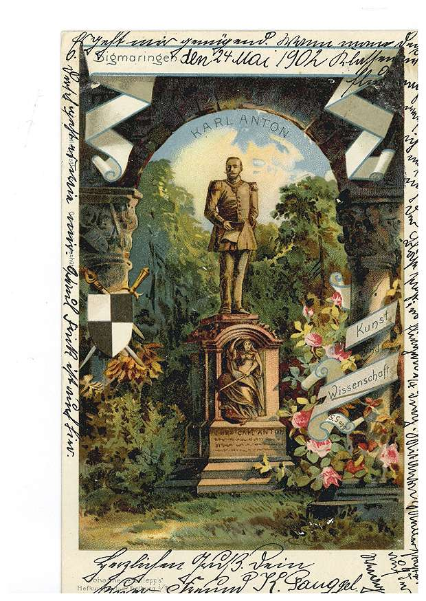 Denkmal des Fürsten Karl Anton von Hohenzollern in Sigmaringen, Bild 1