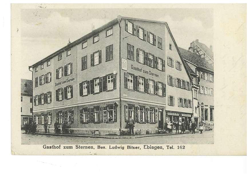 Gasthof zum Sternen in Ebingen, Bild 1