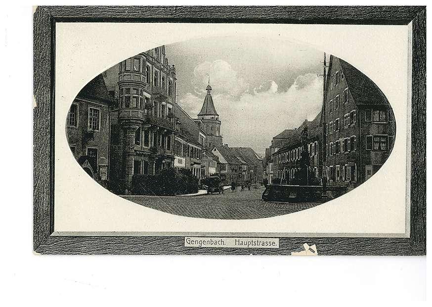 Hauptstraße in Gengenbach, Bild 1