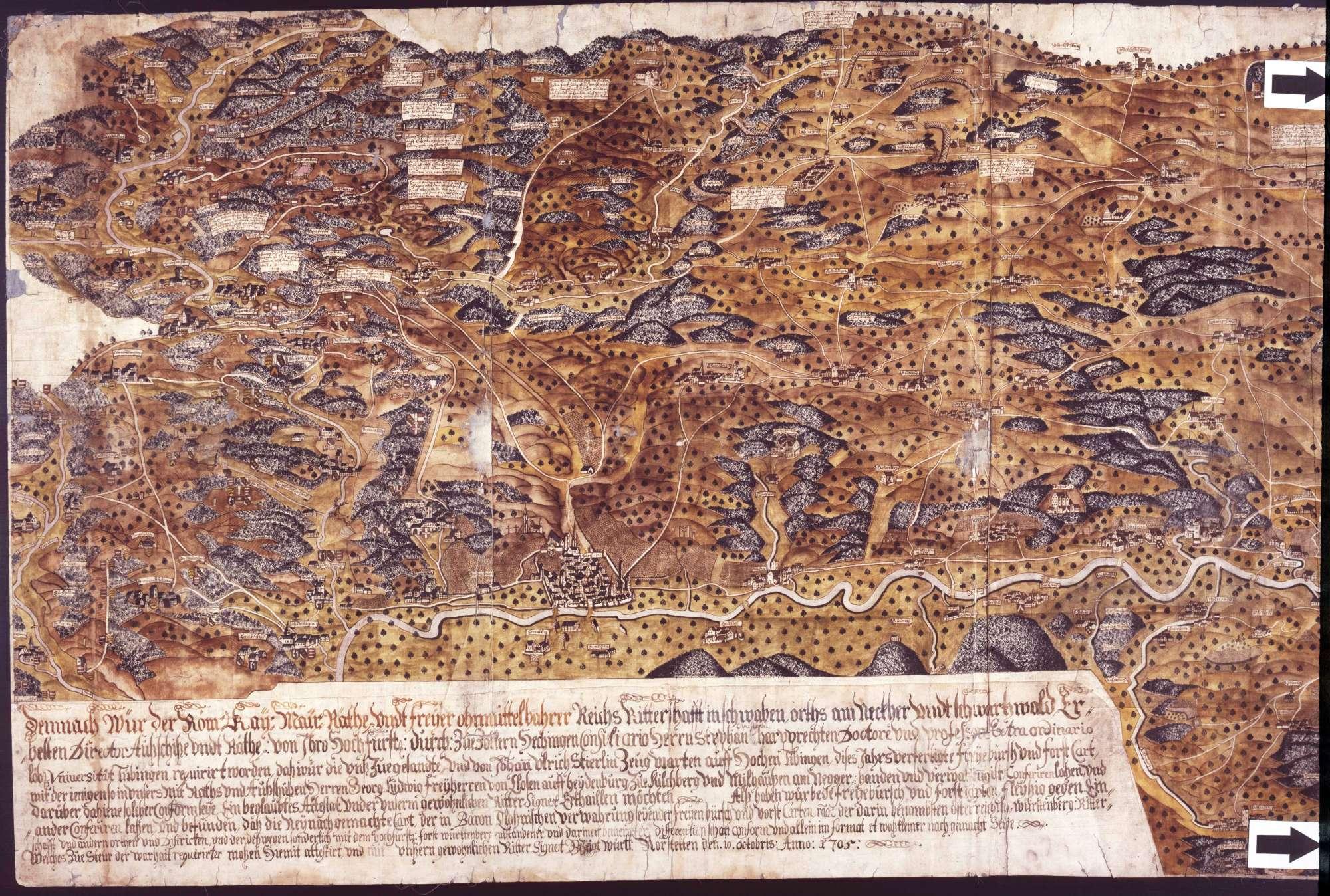 Ritterschaftliche freie Pürsch in Schwaben am Neckar und Schwarzwald, Bild 1