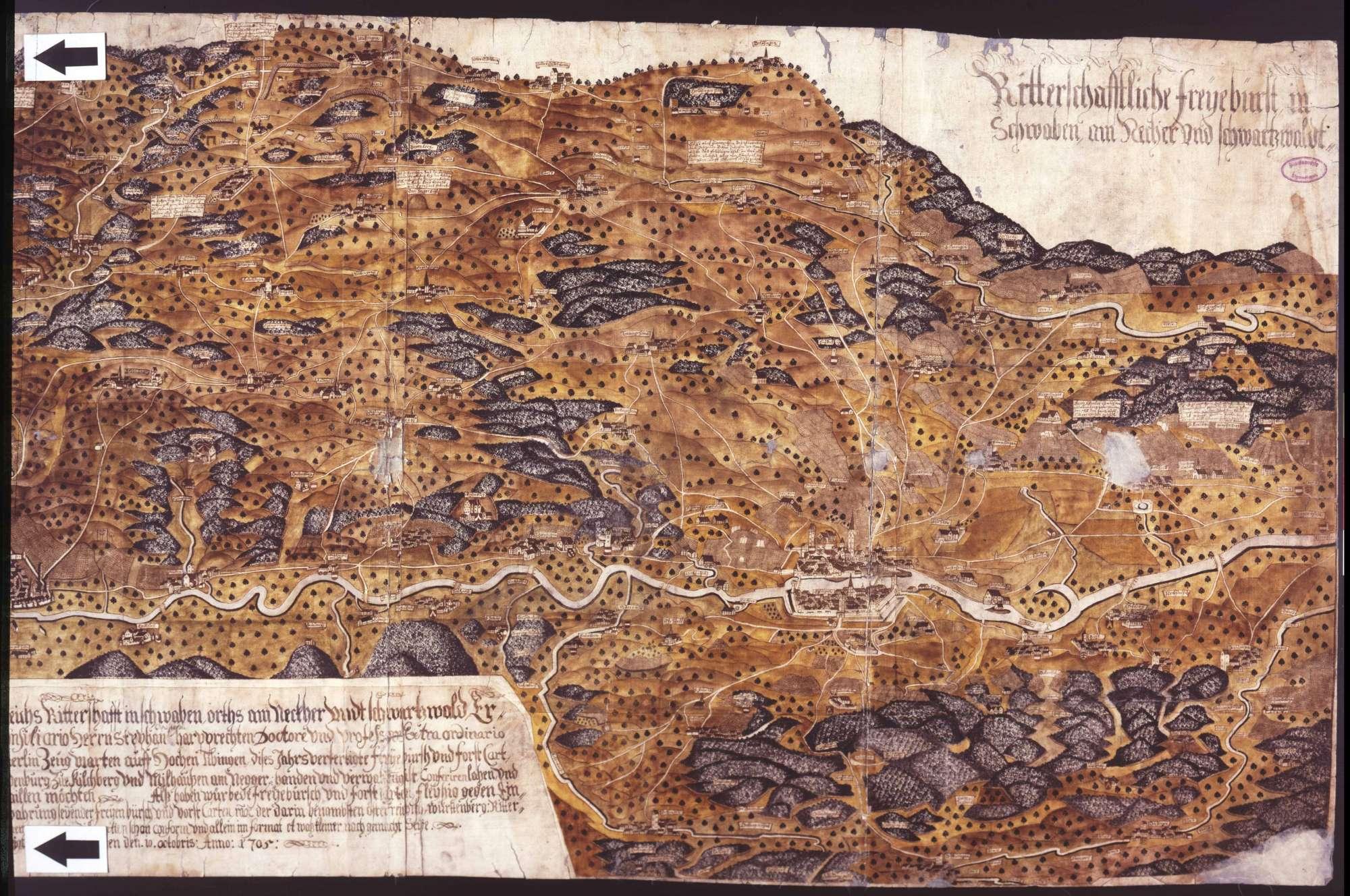 Ritterschaftliche freie Pürsch in Schwaben am Neckar und Schwarzwald, Bild 2