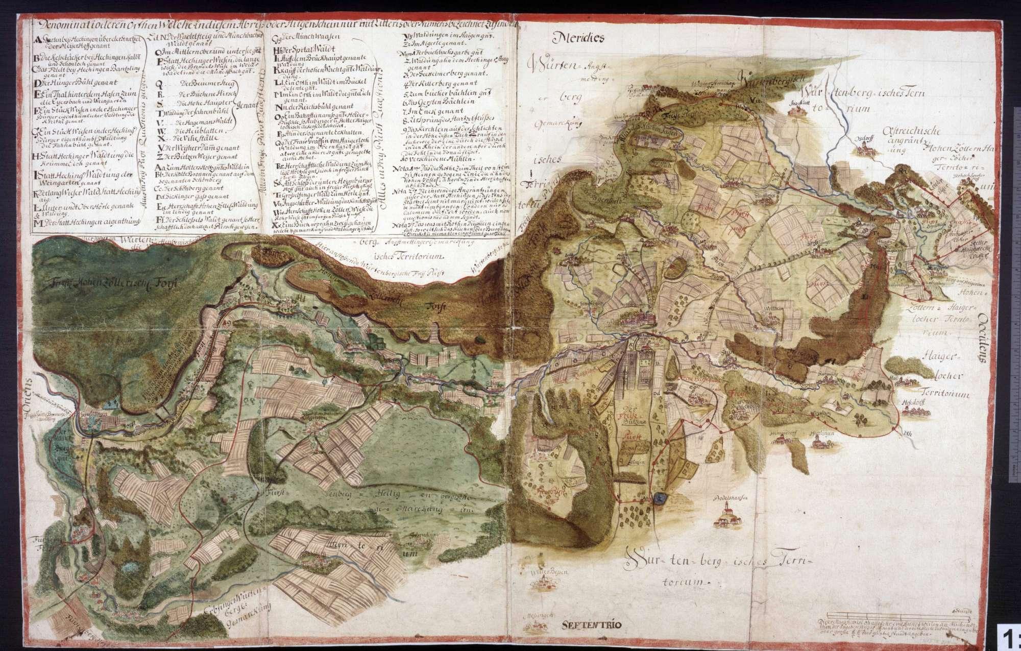 Territorium von Hohenzollern-Hechingen, Bild 1