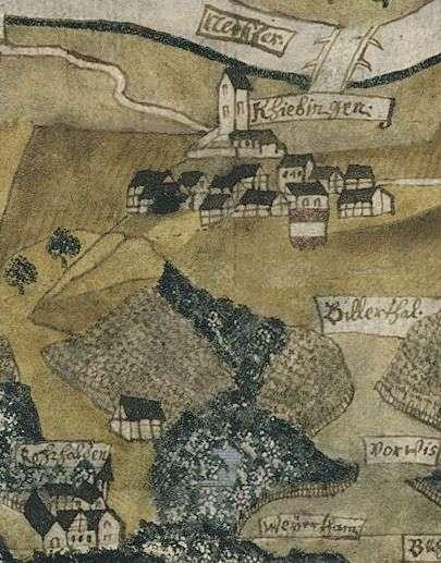 Kiebingen mit Kloster Rohrhalden, Bild 1