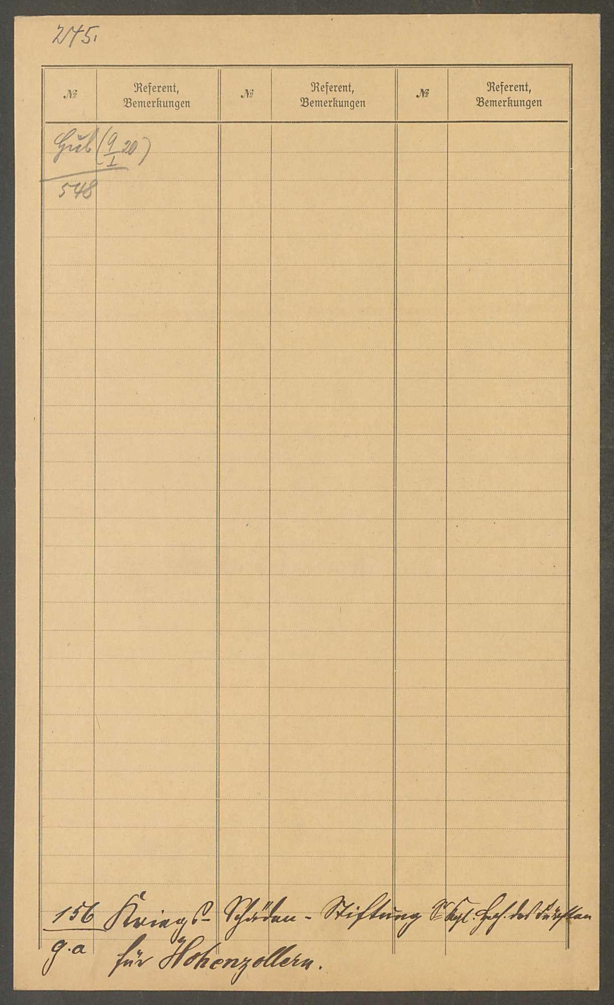 Stiftung des Fürsten Wilhelm von Hohenzollern von 2000000 Mark für die durch den Krieg Geschädigten in Hohenzollern, Bild 2