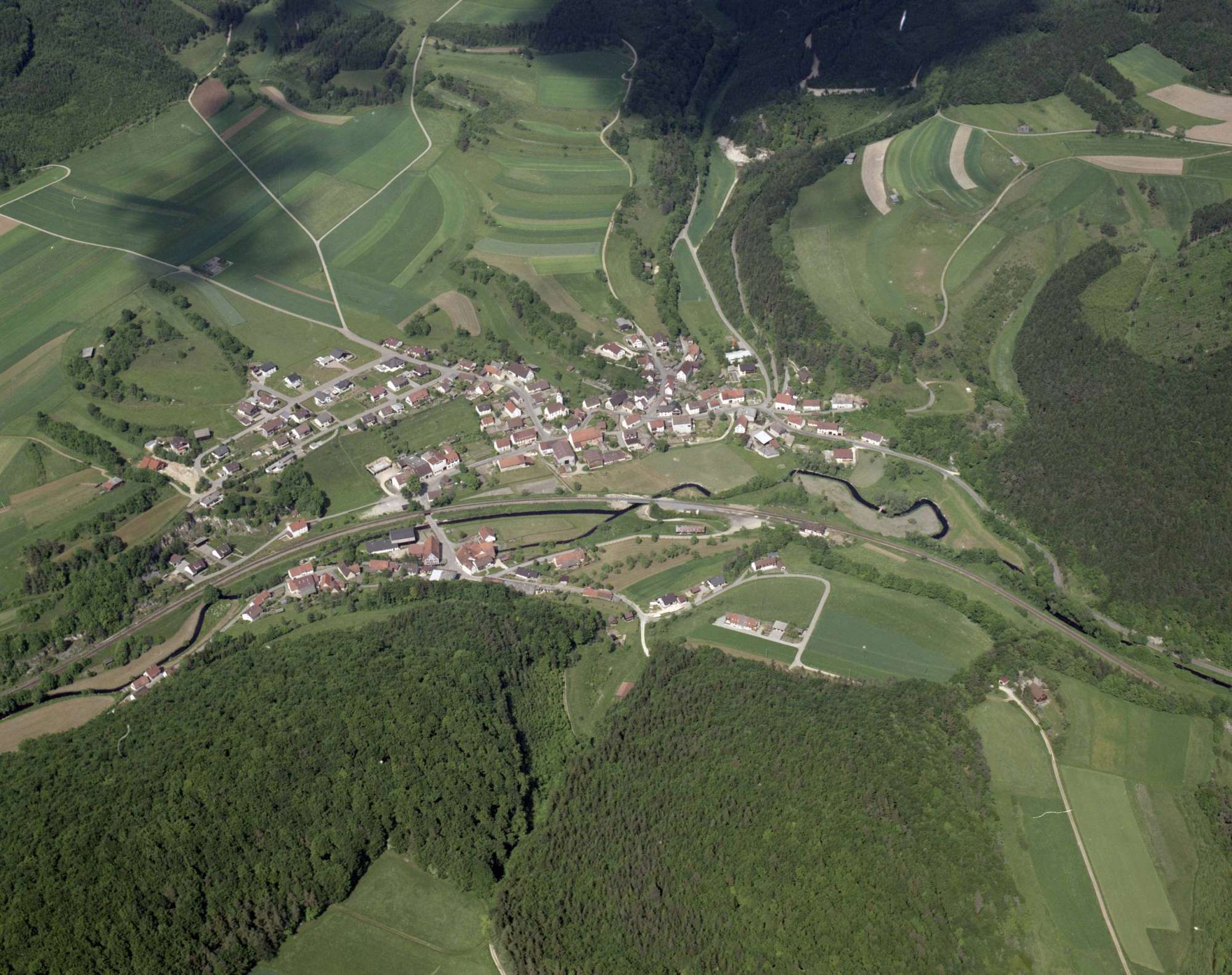 Oberschmeien, Luftbild, Bild 1