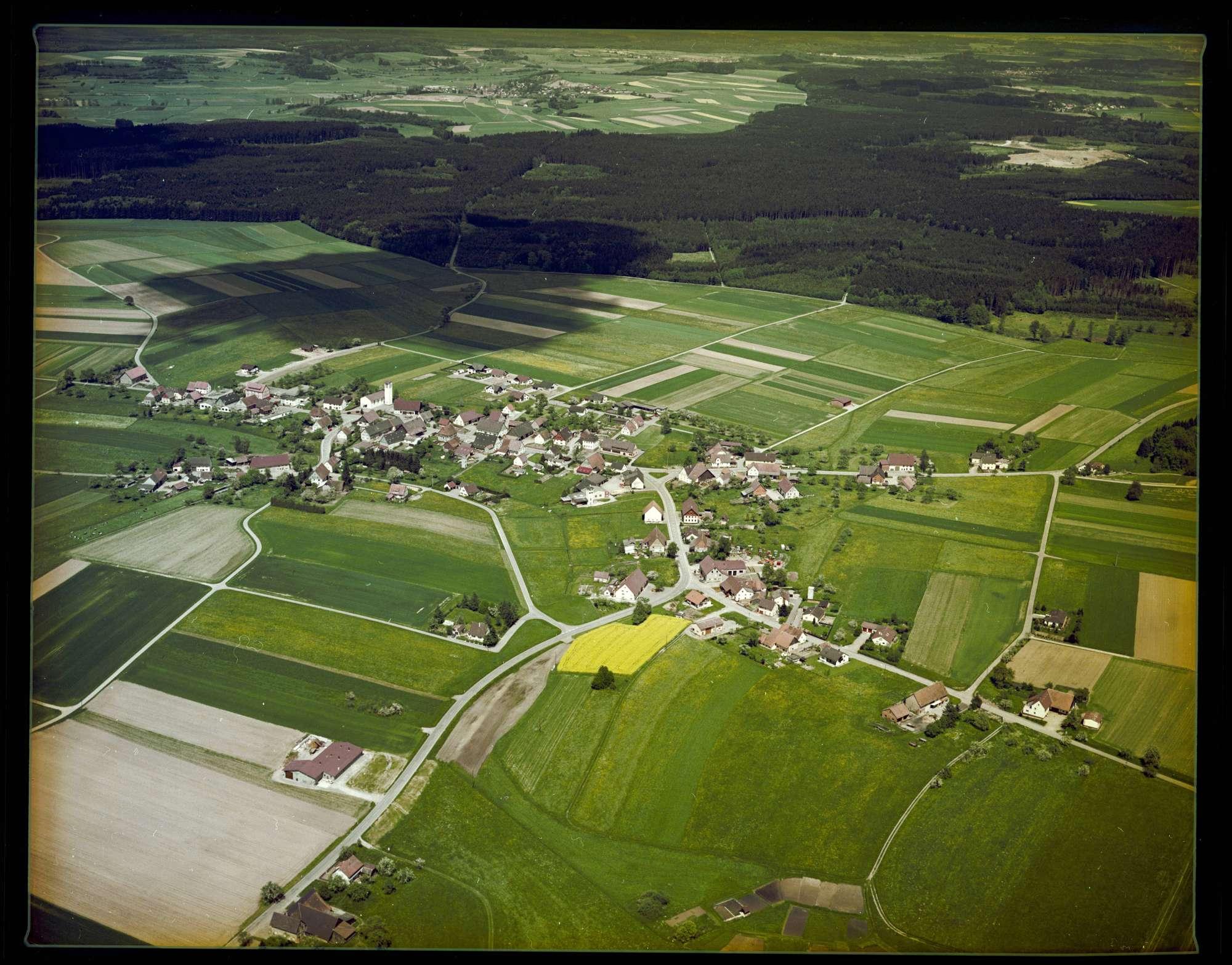 Rengetsweiler, Luftbild, Bild 1