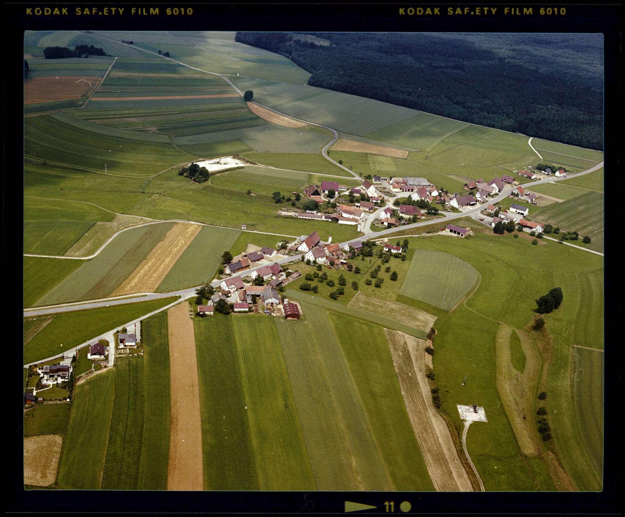 Mottschieß, Luftbild, Bild 1