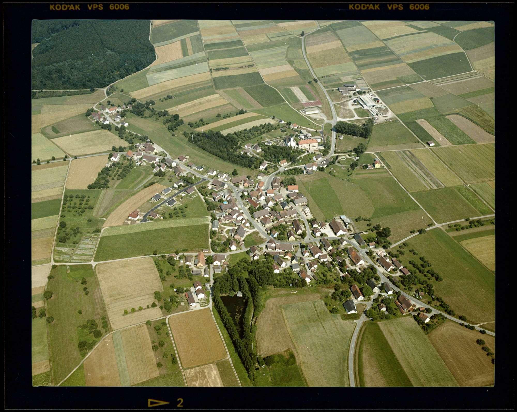 Oggelsbeuren, Luftbild, Bild 1