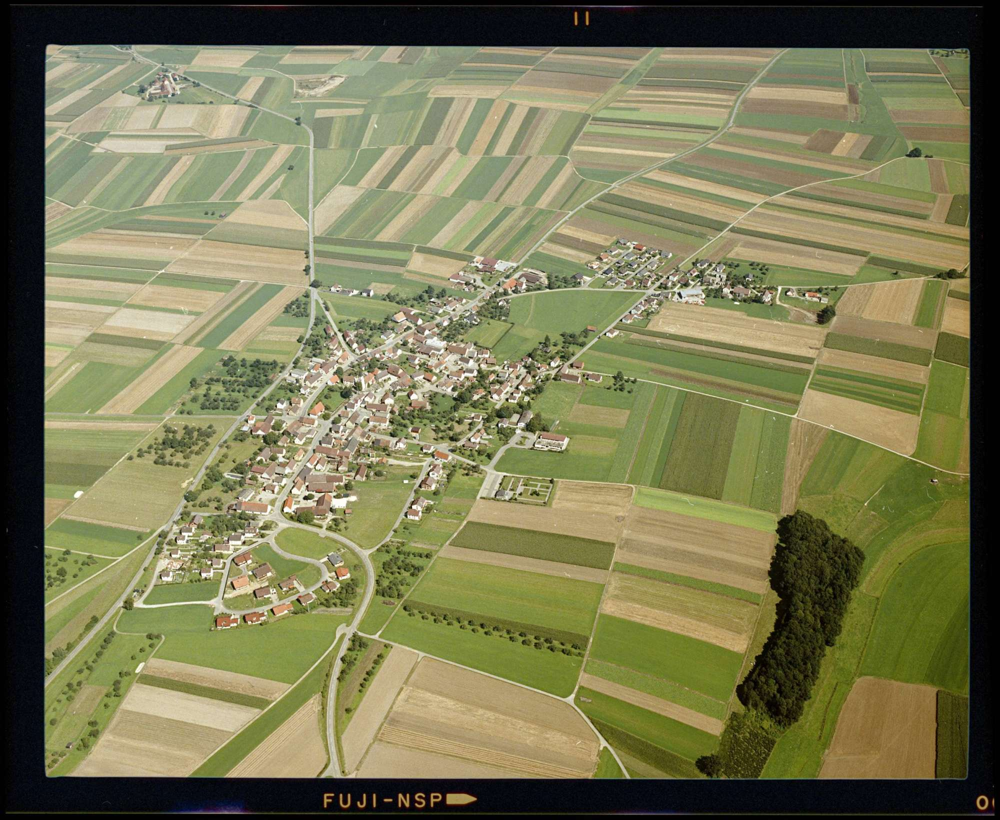 Oberholzheim, Luftbild, Bild 1