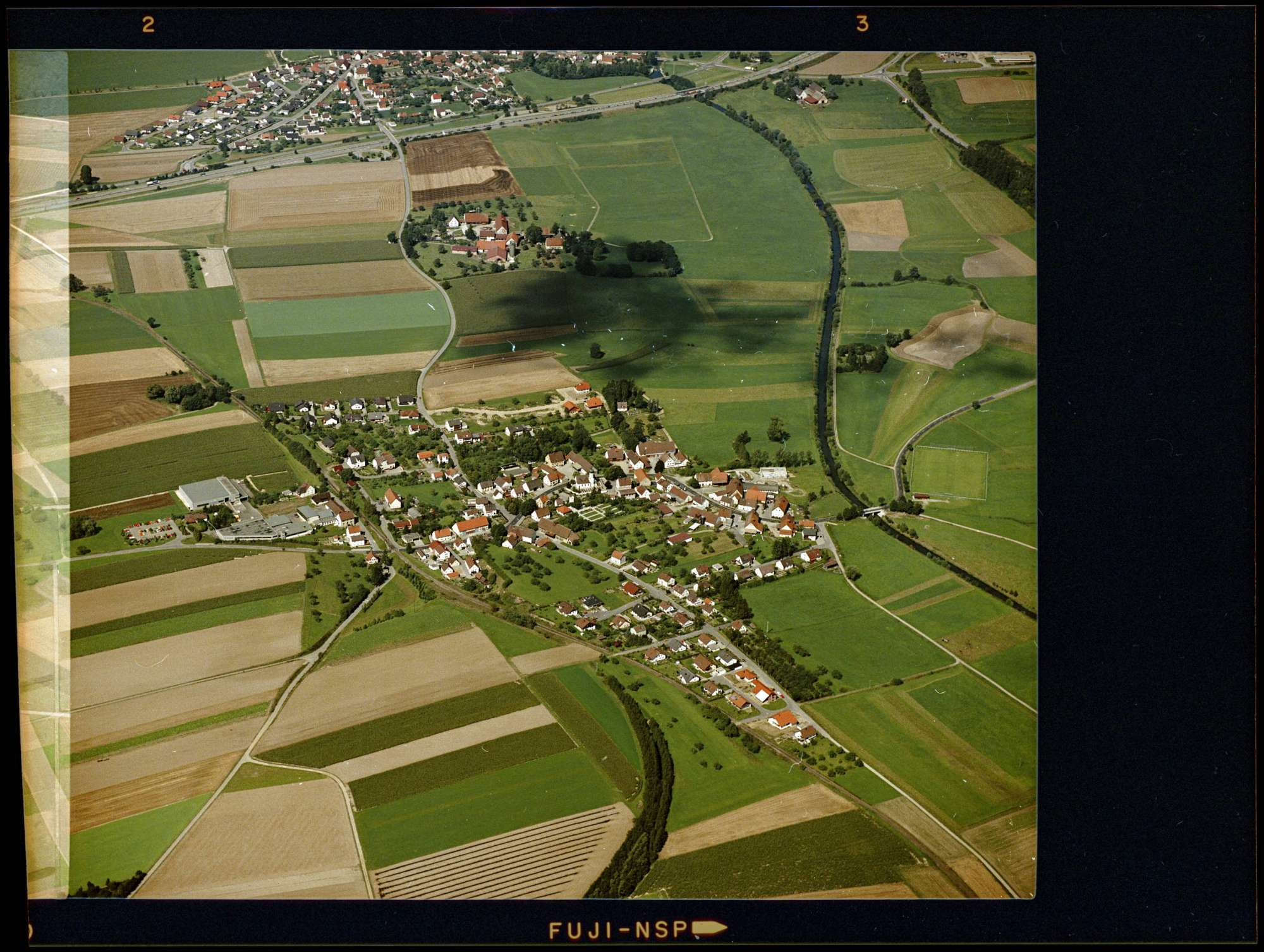 Bronnen, Luftbild, Bild 1