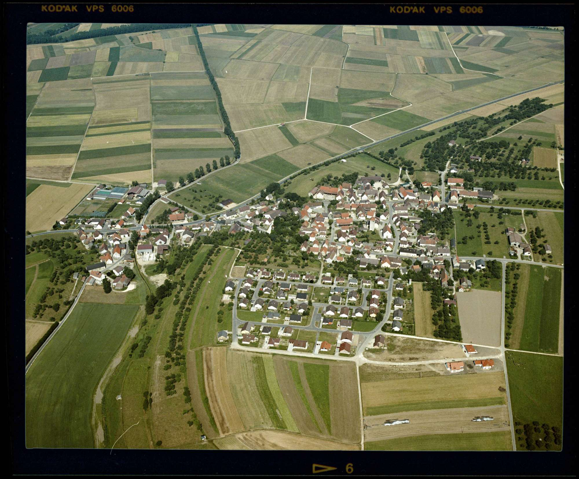 Emerkingen, Luftbild, Bild 1