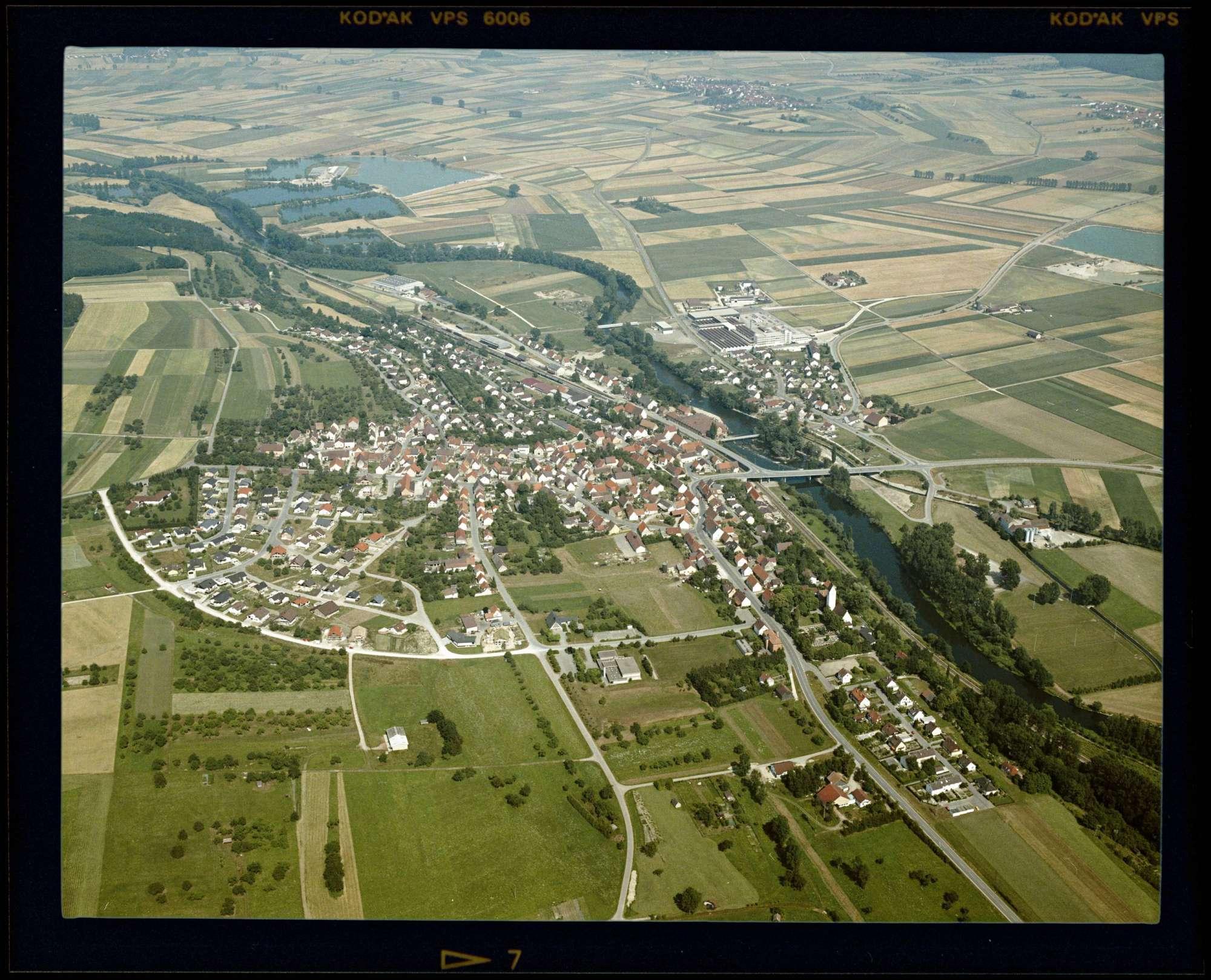 Rottenacker, Luftbild, Bild 1