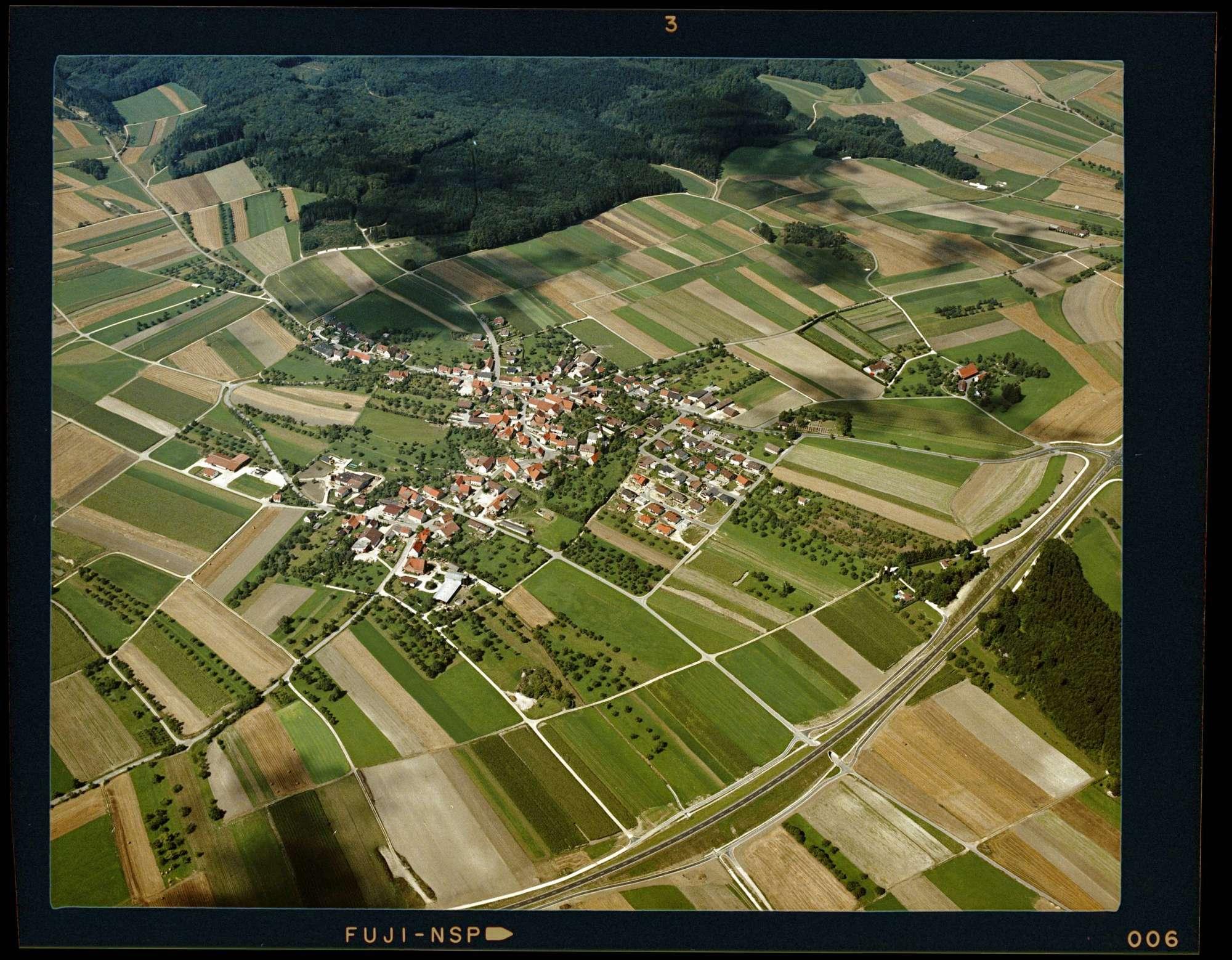 Pappelau, Luftbild, Bild 1