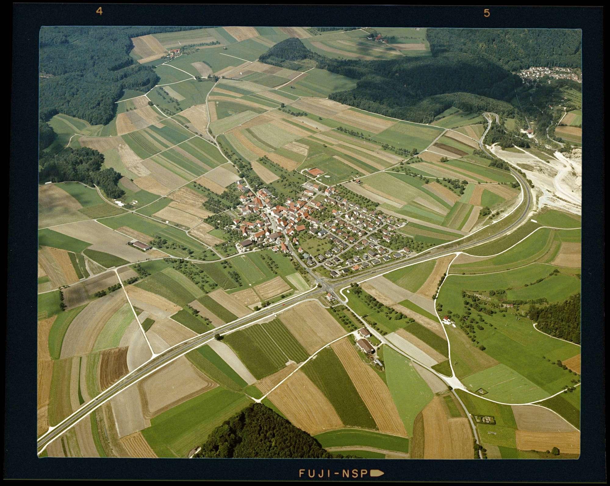 Beiningen, Luftbild, Bild 1