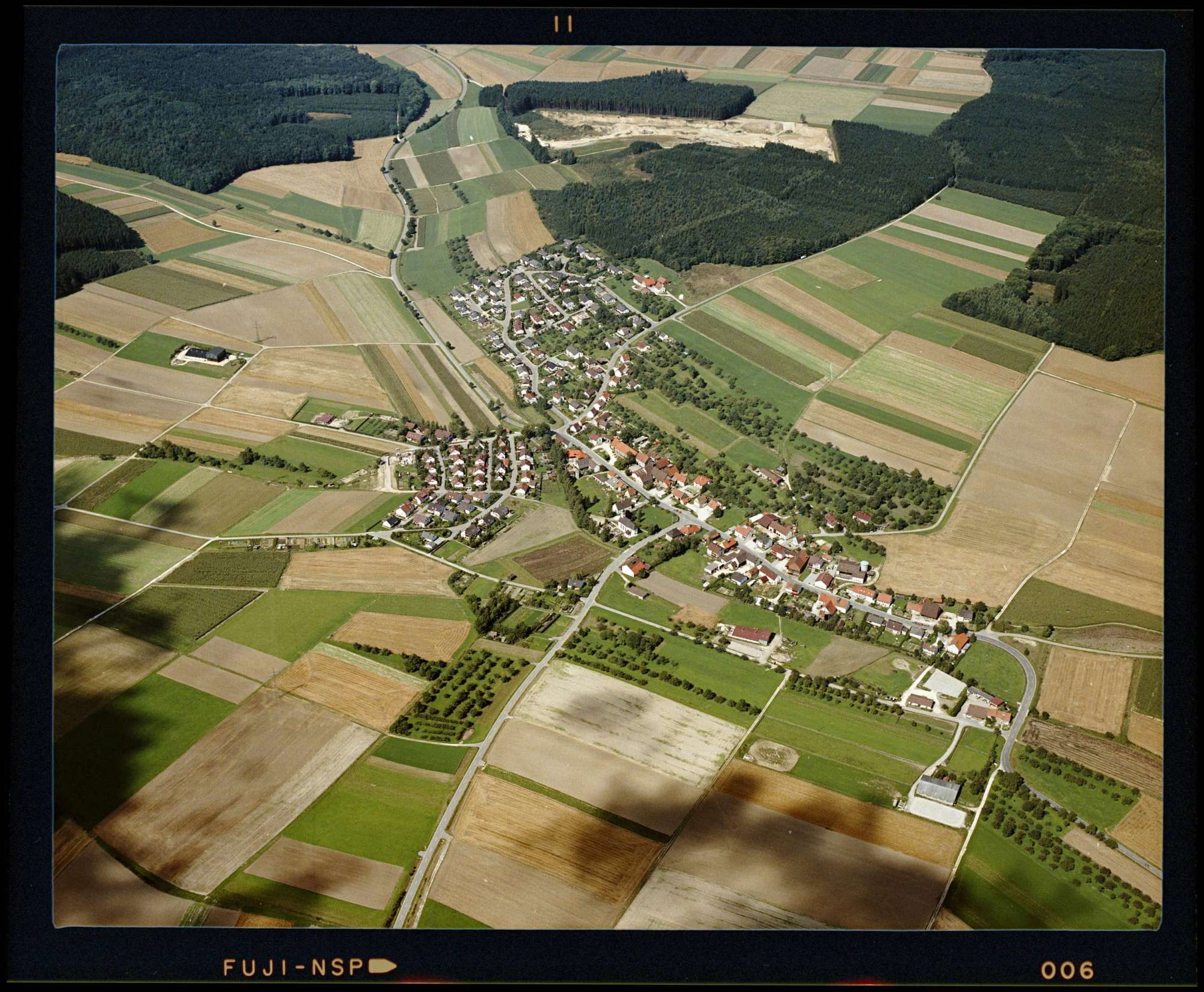 Bach, Luftbild, Bild 1