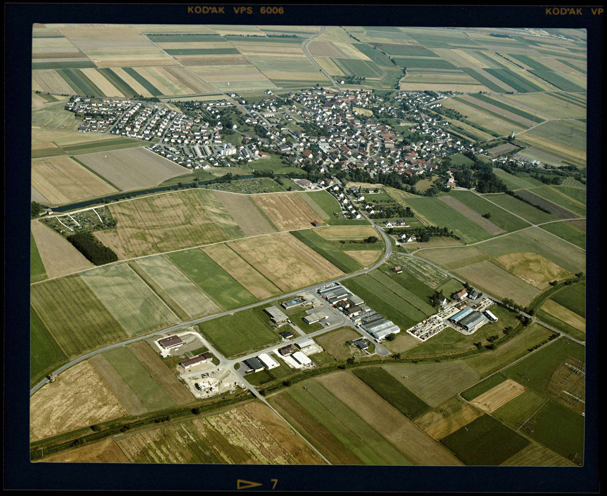 Dellmensingen, Luftbild, Bild 1