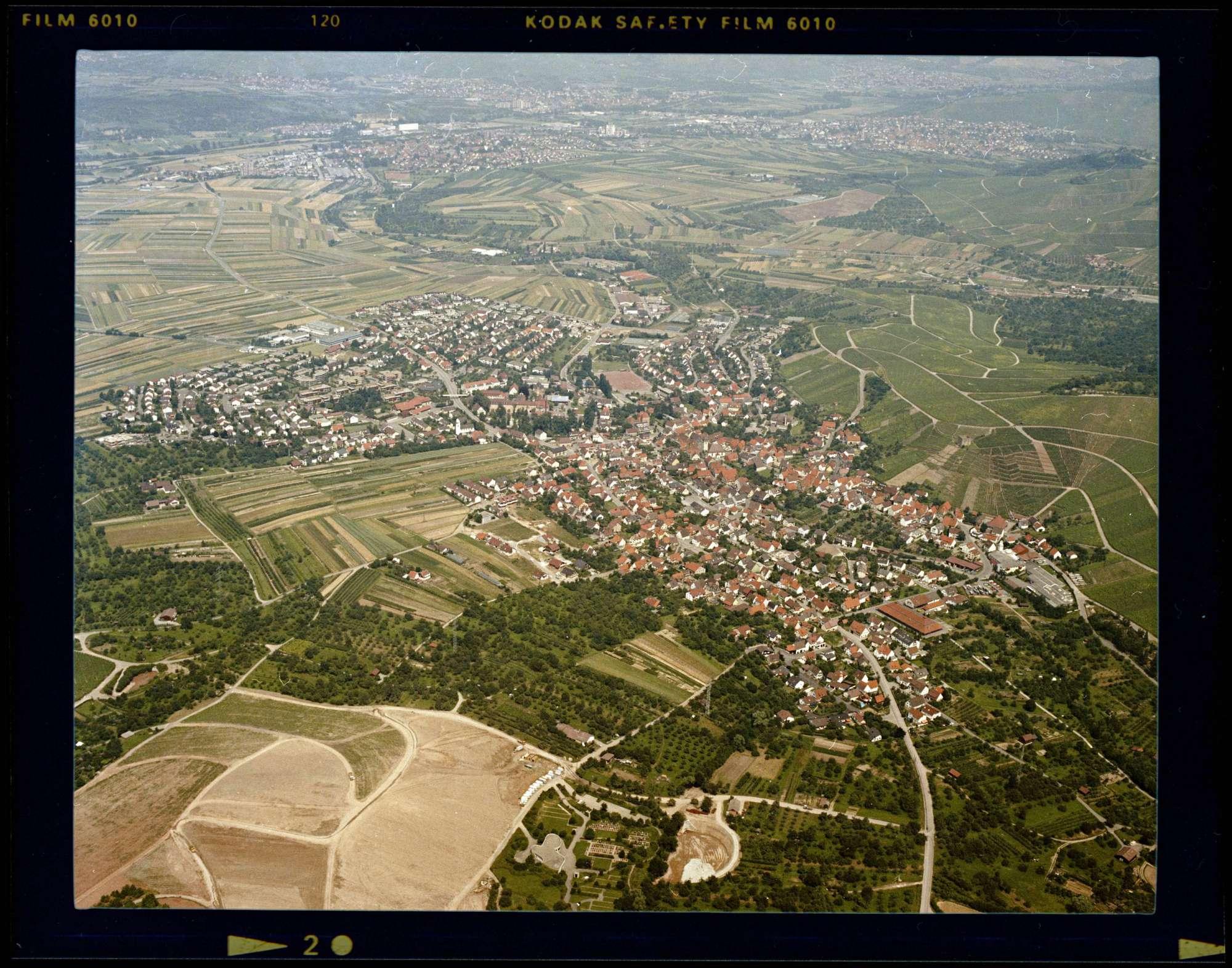 Stetten, Luftbild, Bild 1