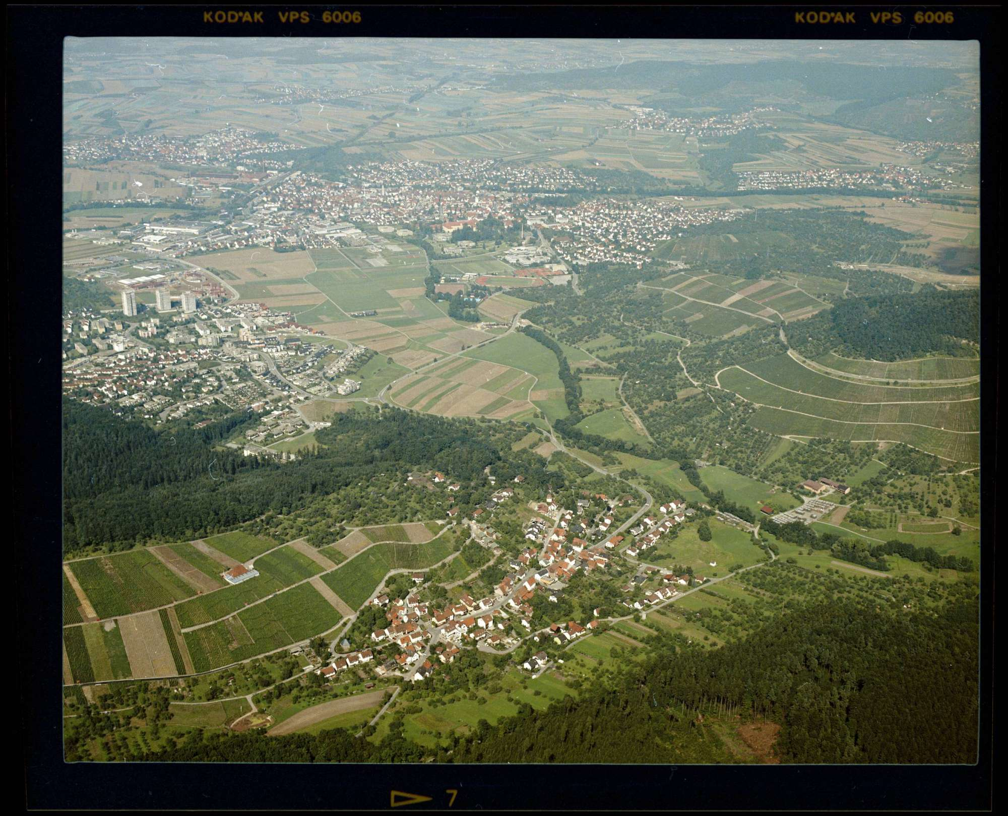 Hanweiler, Luftbild, Bild 1