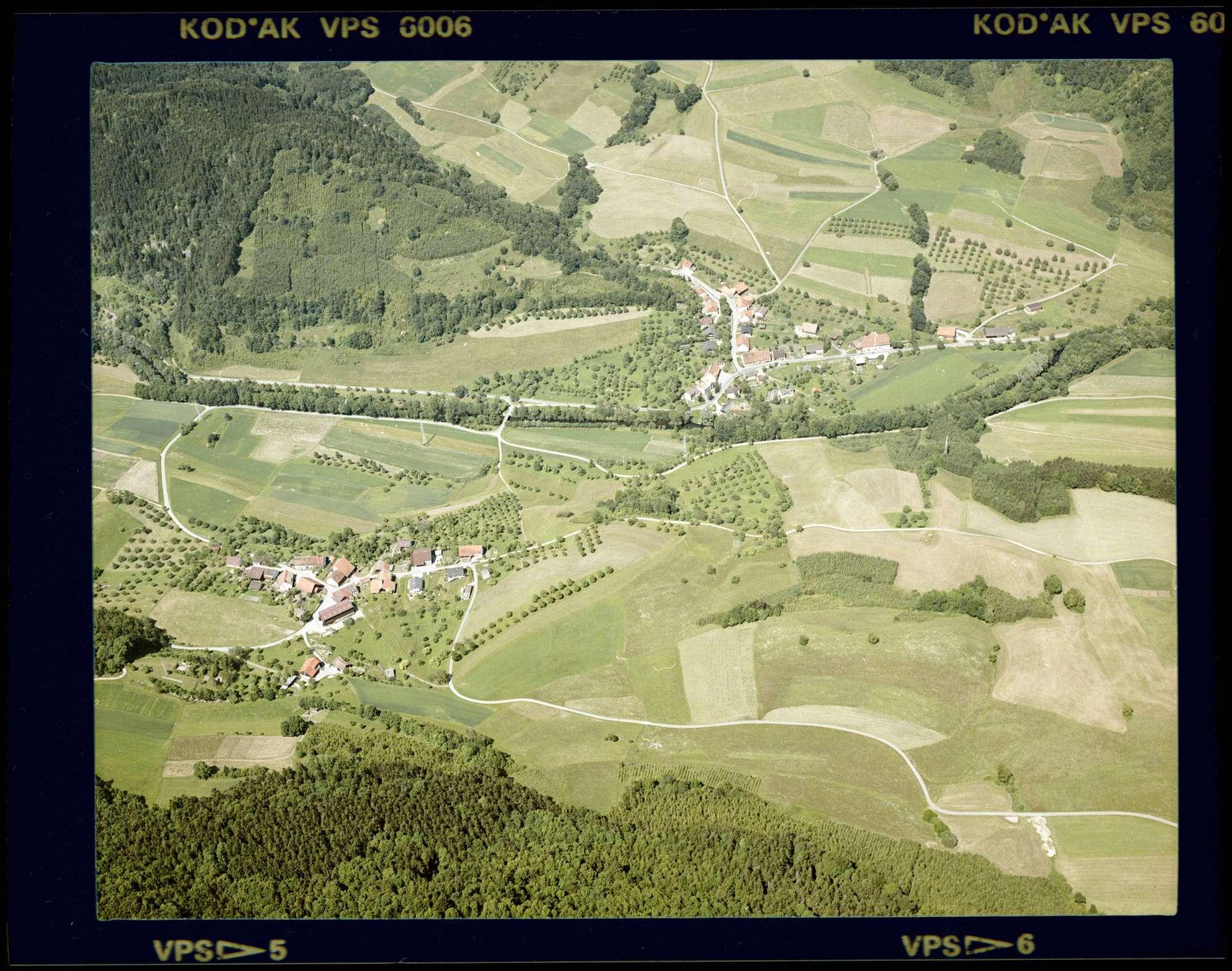 Aselfingen und Überachen, Luftbild, Bild 1