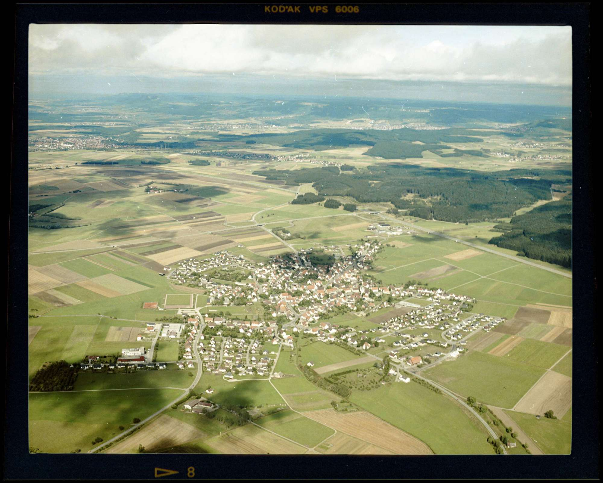 Tuningen, Luftbild, Bild 1