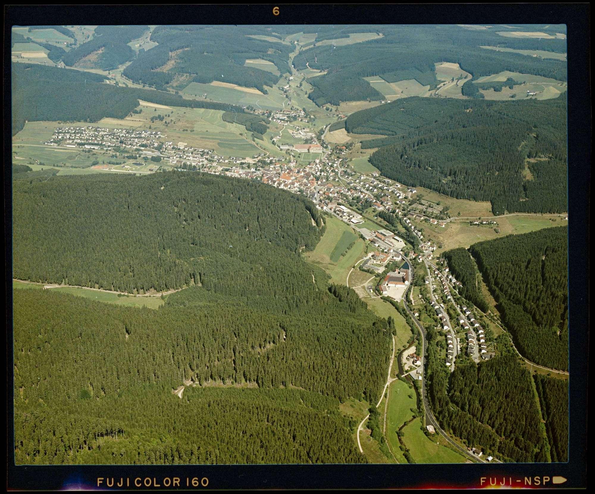 Vöhrenbach, Luftbild, Bild 1