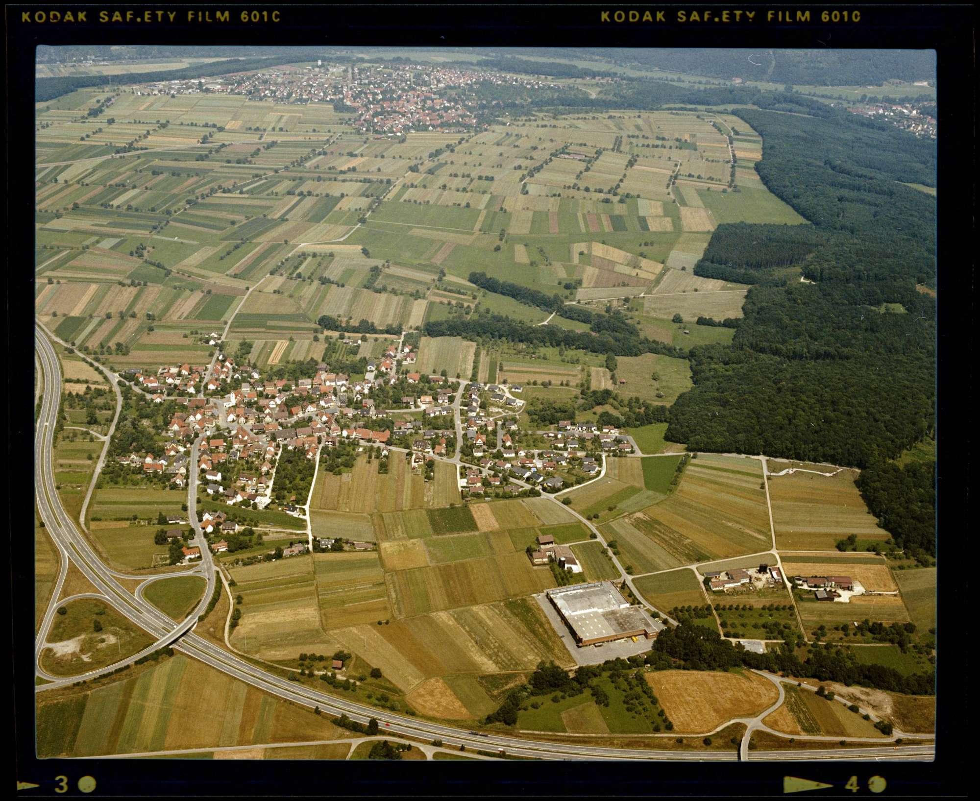 Jettenburg, Luftbild, Bild 1