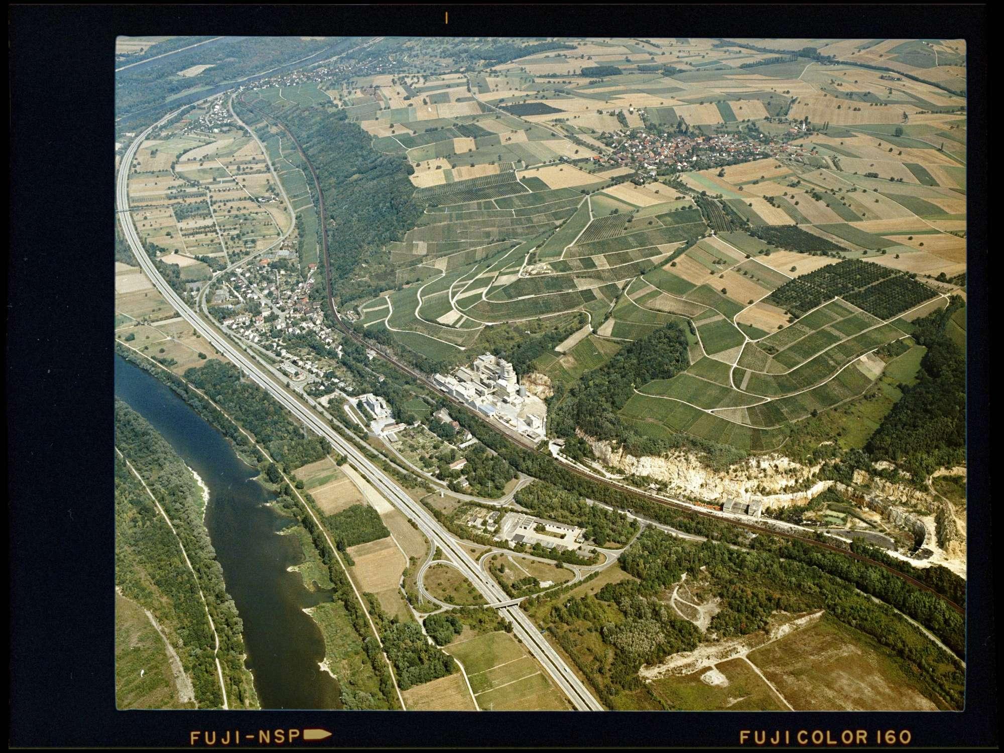 Kleinkems, Luftbild, Bild 1