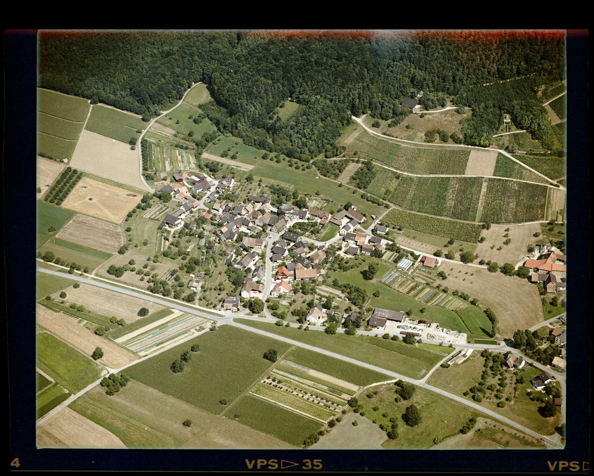Ettingen, Luftbild, Bild 1