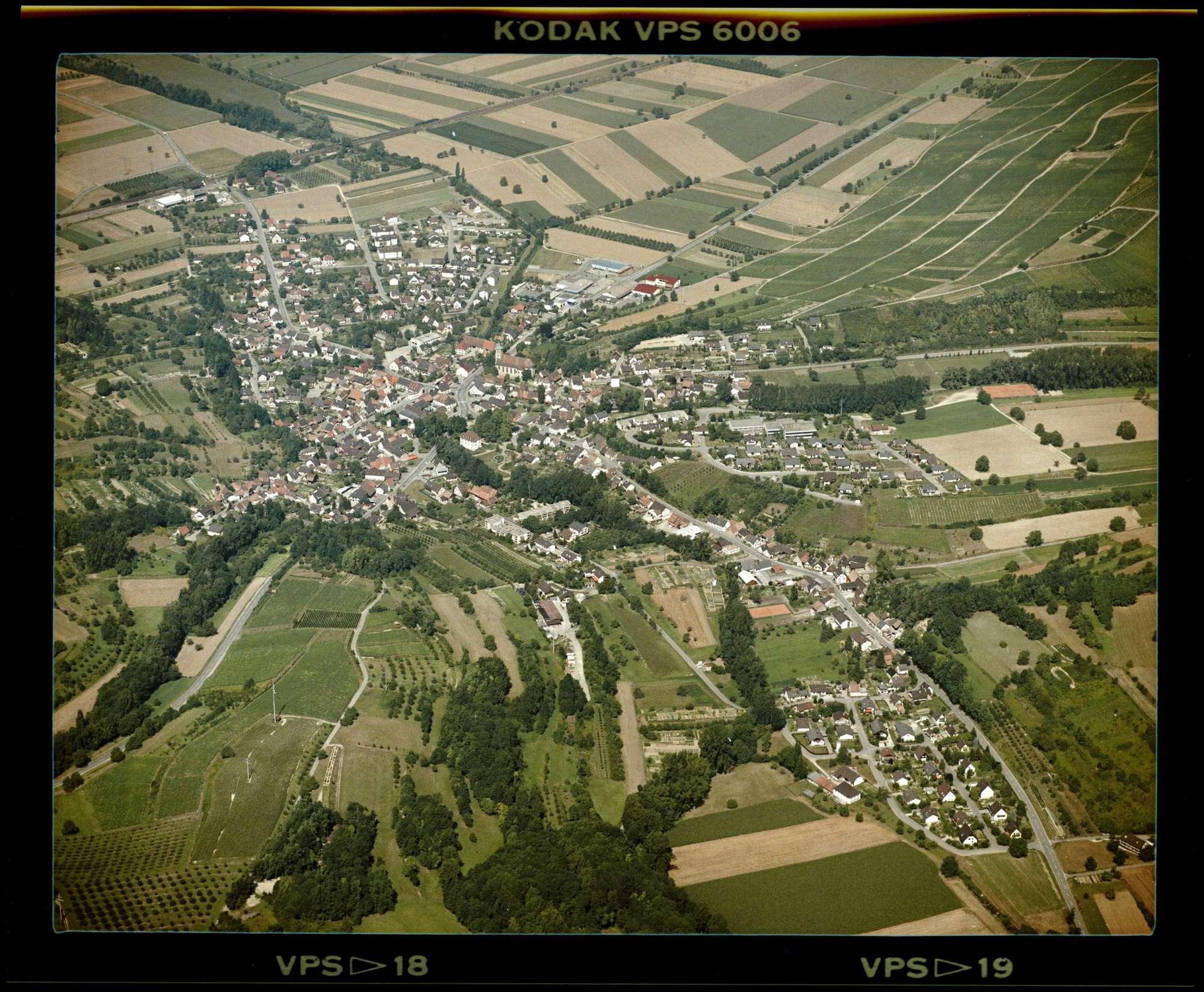 Schliengen, Luftbild, Bild 1
