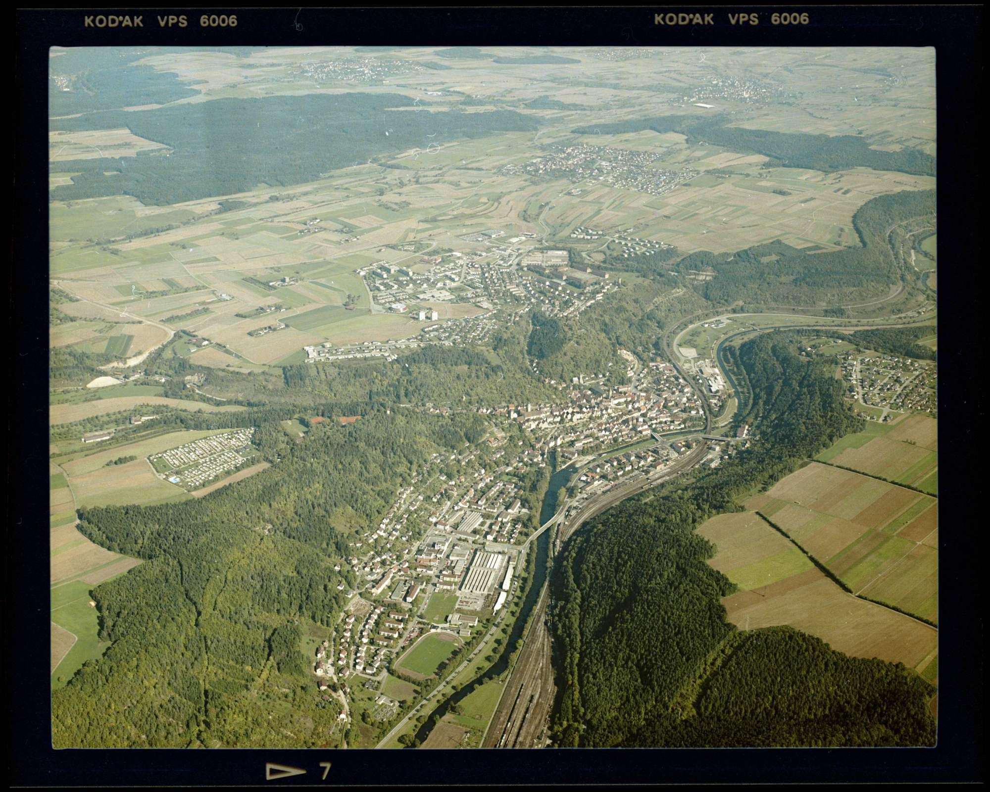 Horb am Neckar, Luftbild, Bild 1