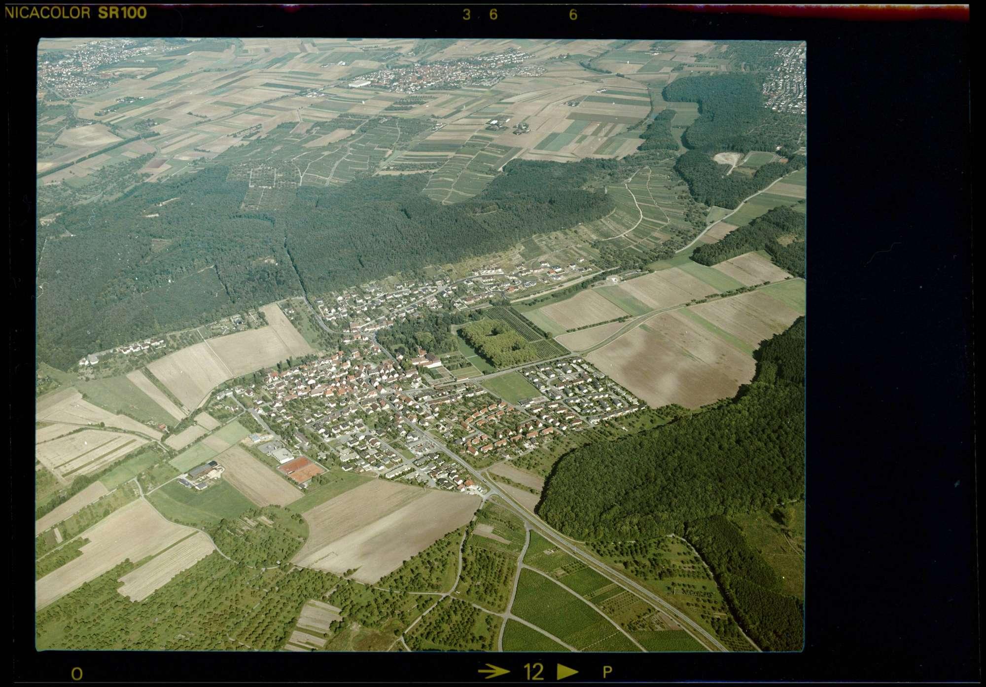 Freudental, Luftbild, Bild 1