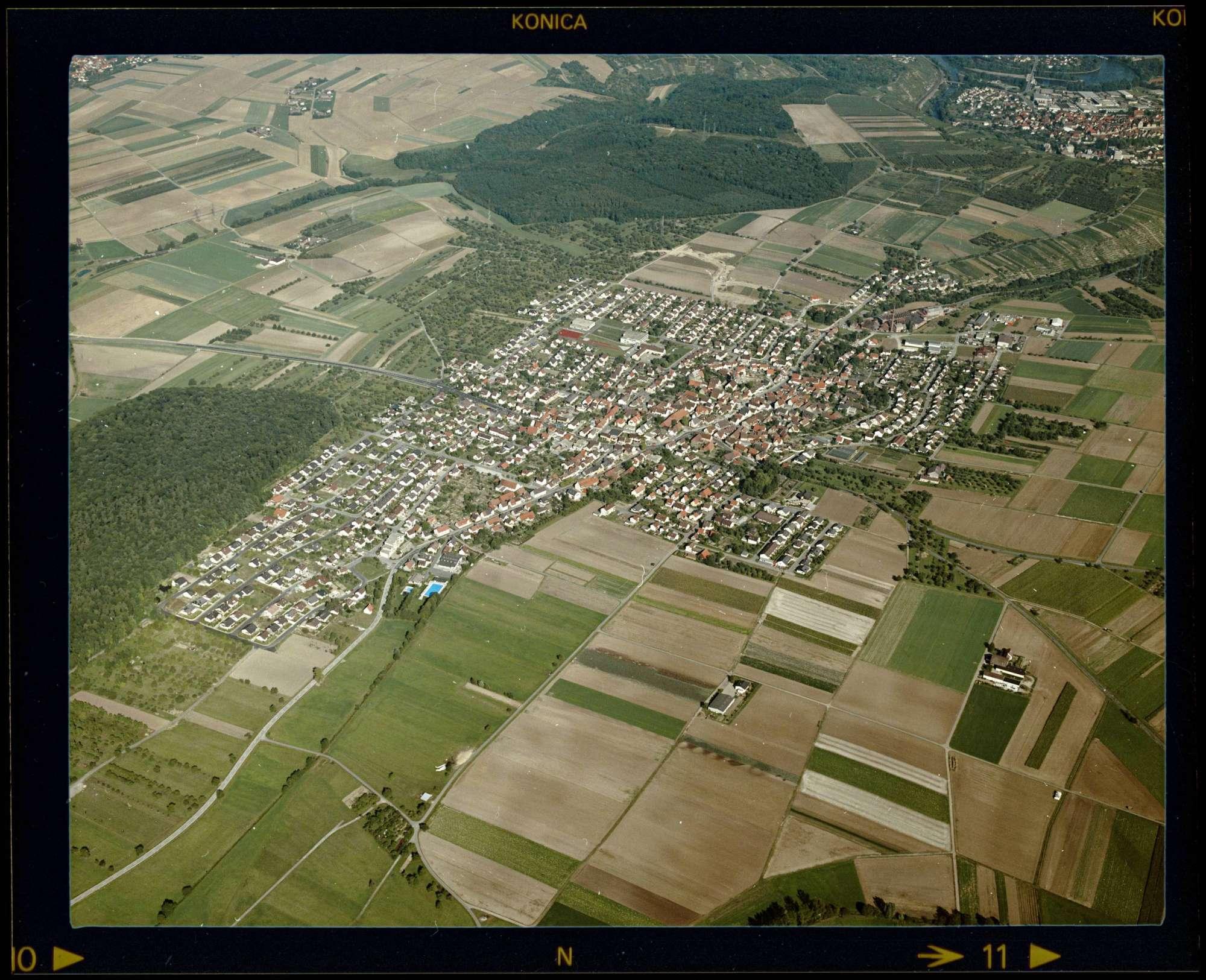 Löchgau, Luftbild, Bild 1