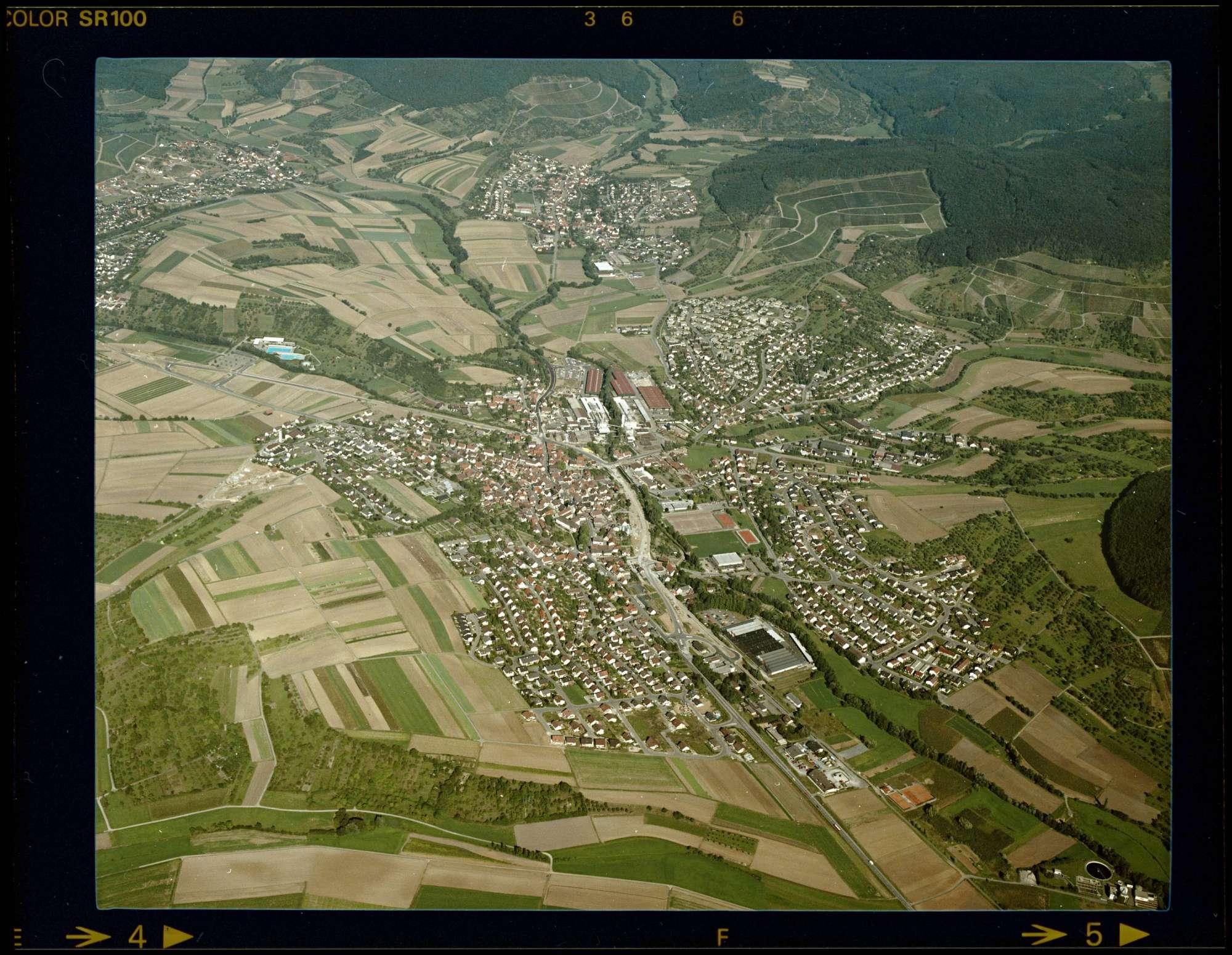 Oberstenfeld, Luftbild, Bild 1