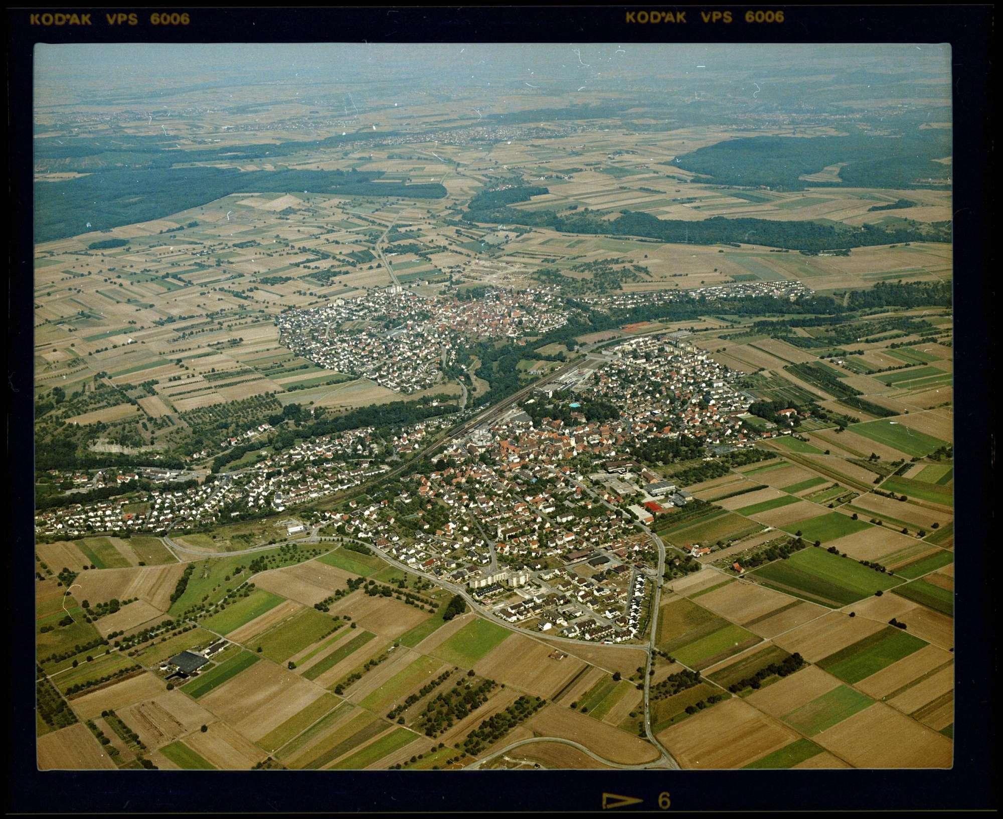 Sachsenheim, Luftbild, Bild 1