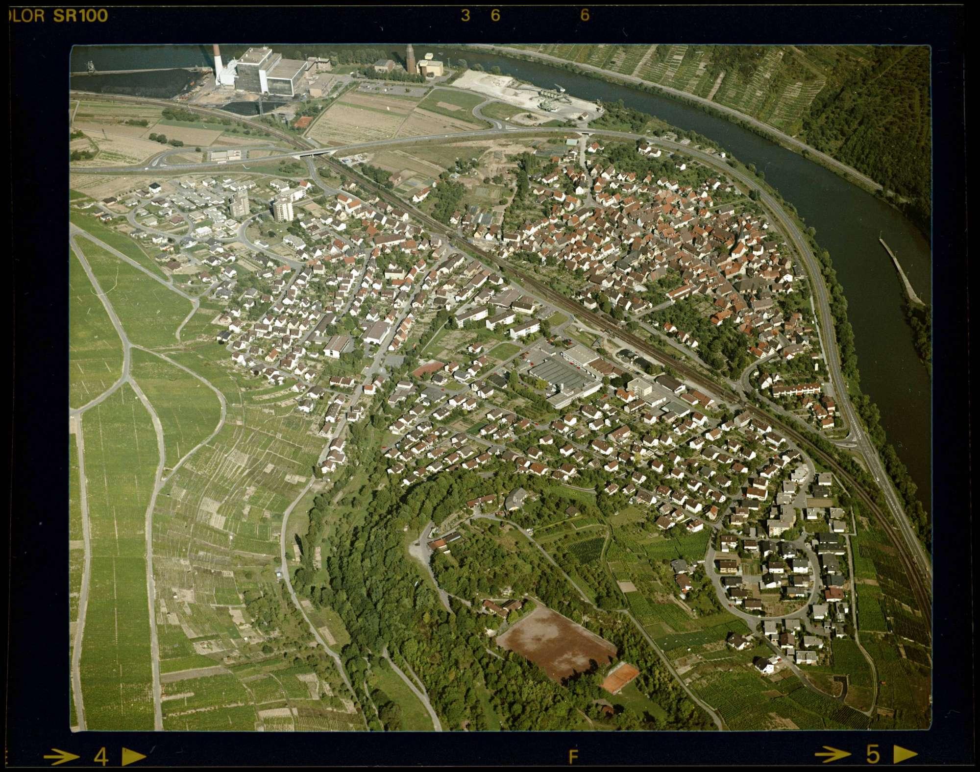 Walheim, Luftbild, Bild 1