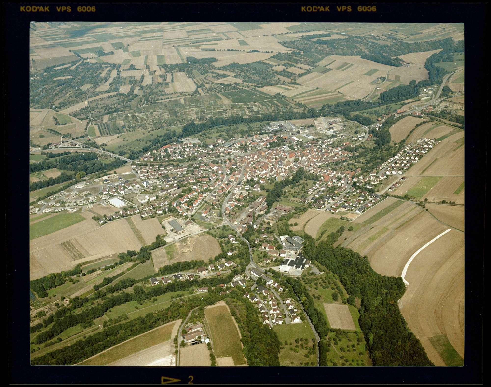 Enzweihingen, Luftbild, Bild 1
