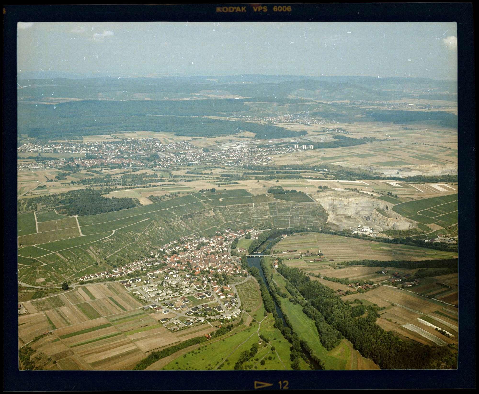 Roßwag, Luftbild, Bild 1