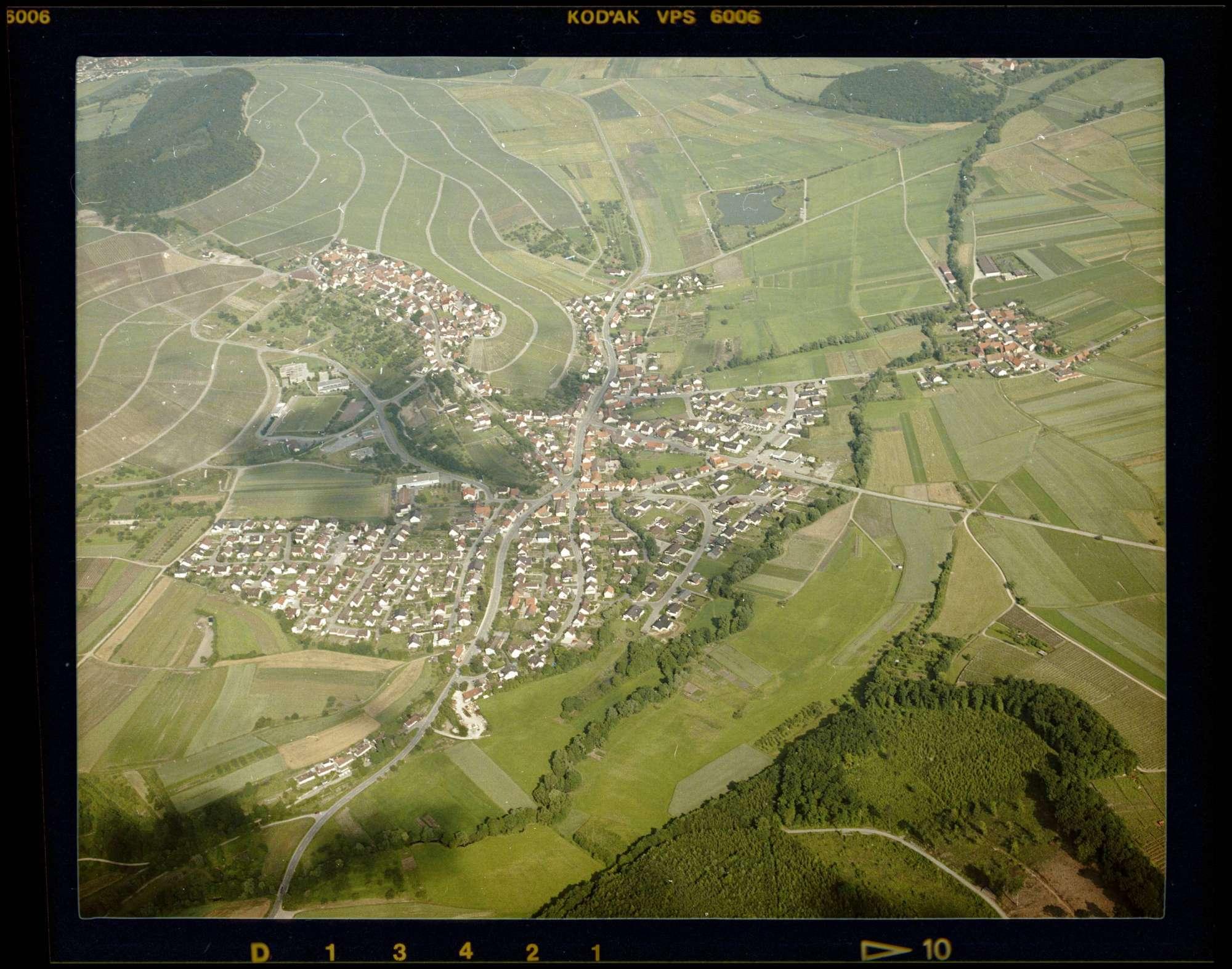 Hohenhaslach, Luftbild, Bild 1