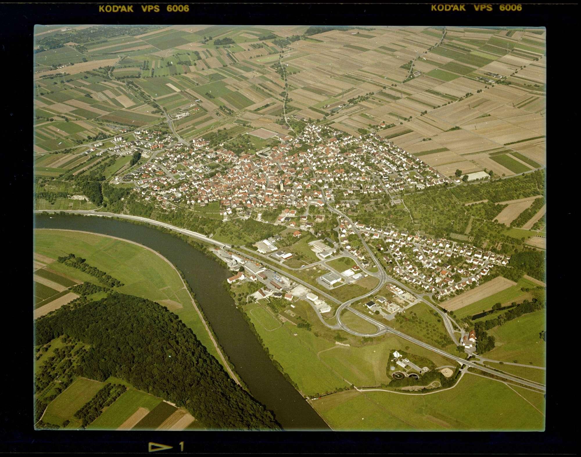 Poppenweiler, Luftbild, Bild 1