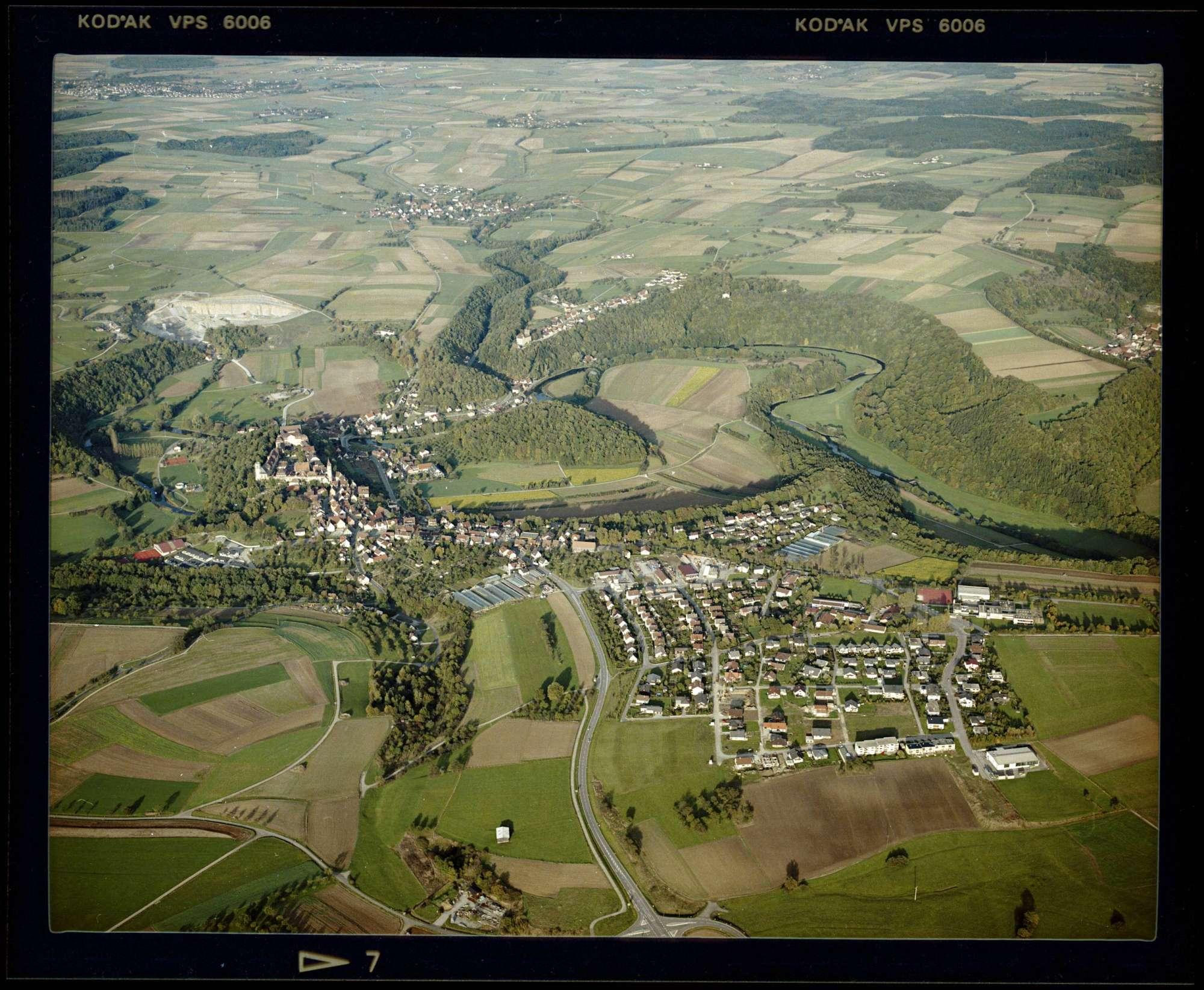 Kirchberg an der Jagst, Luftbild, Bild 1