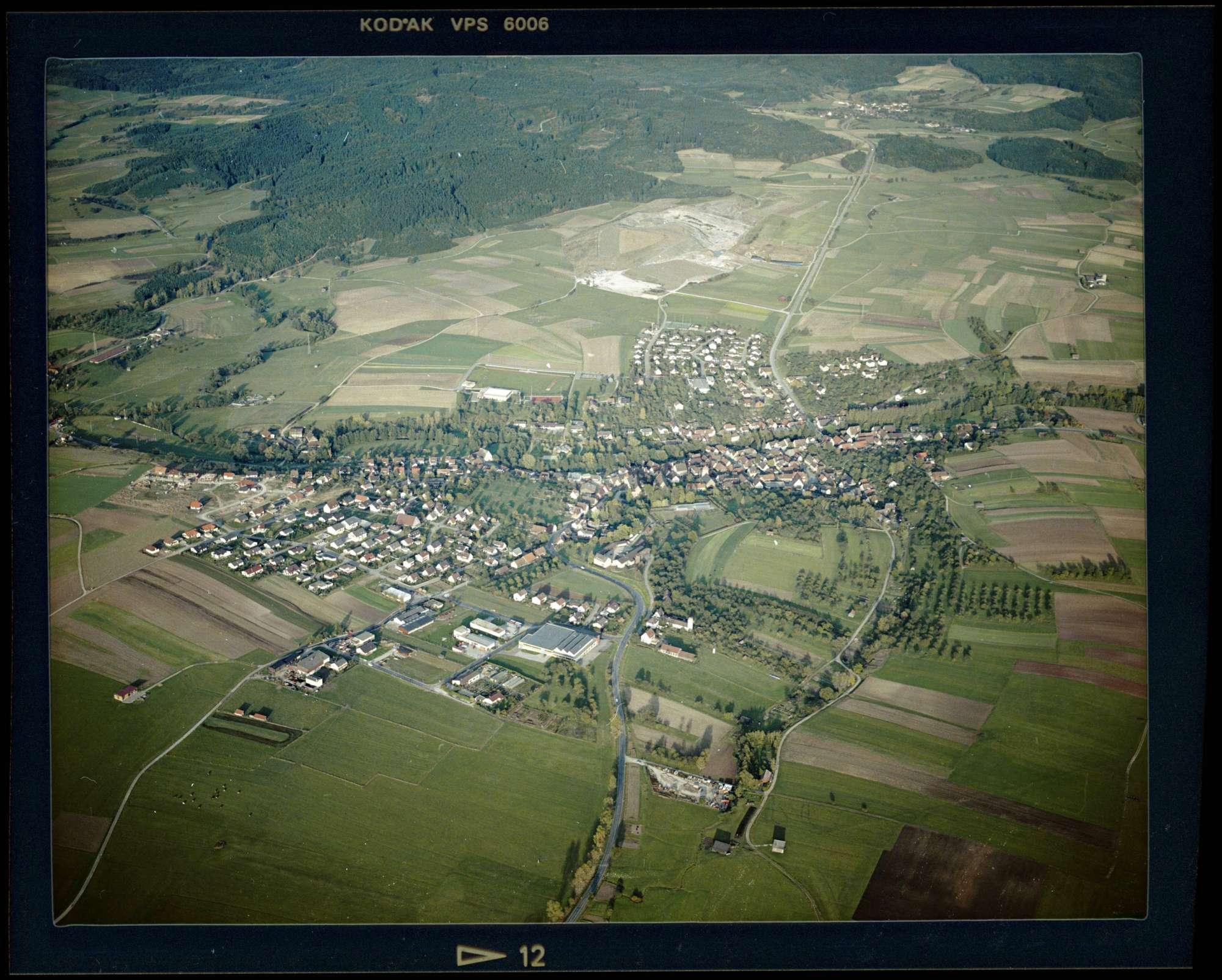 Obersontheim, Luftbild, Bild 1
