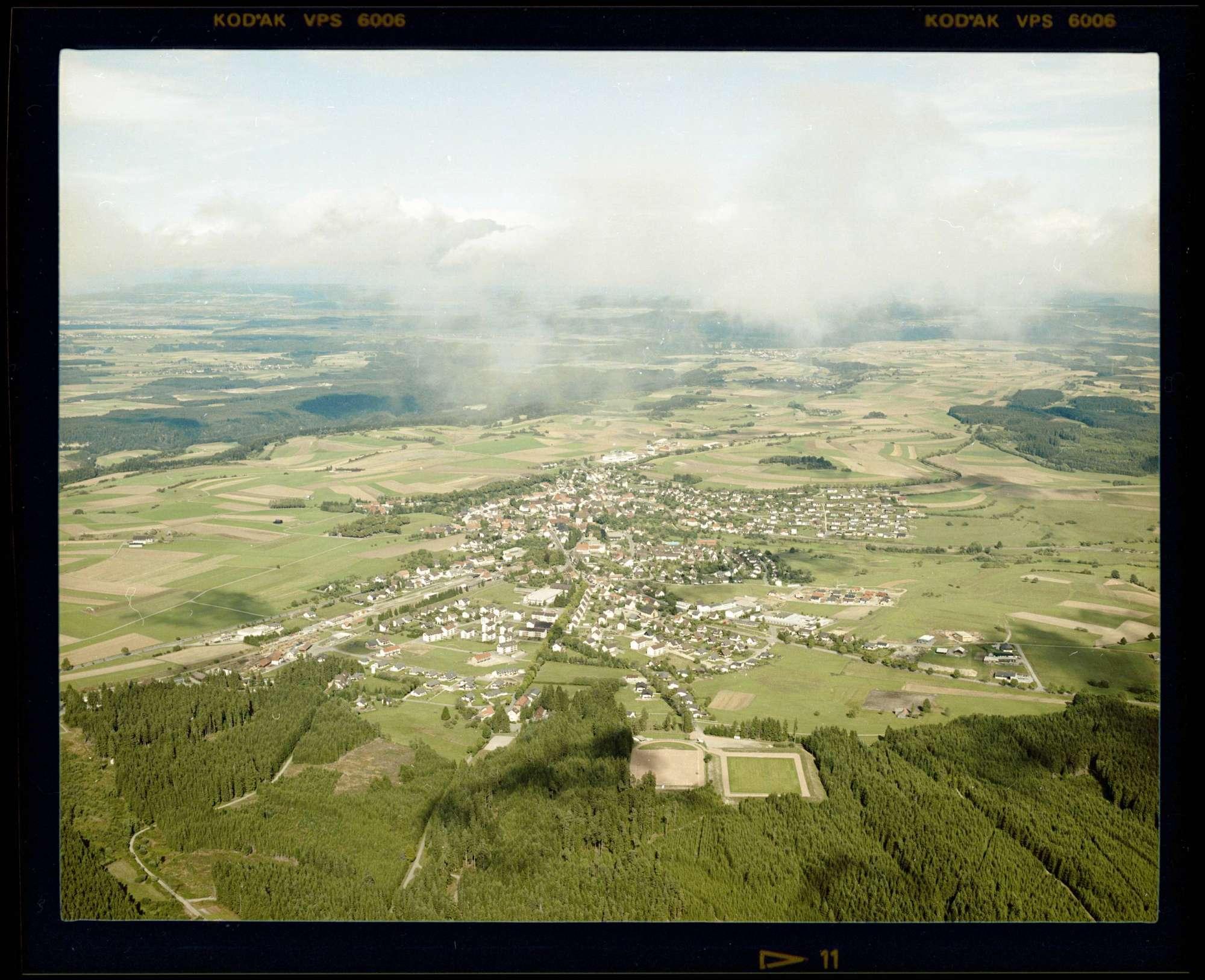 Bonndorf im Schwarzwald, Luftbild, Bild 1