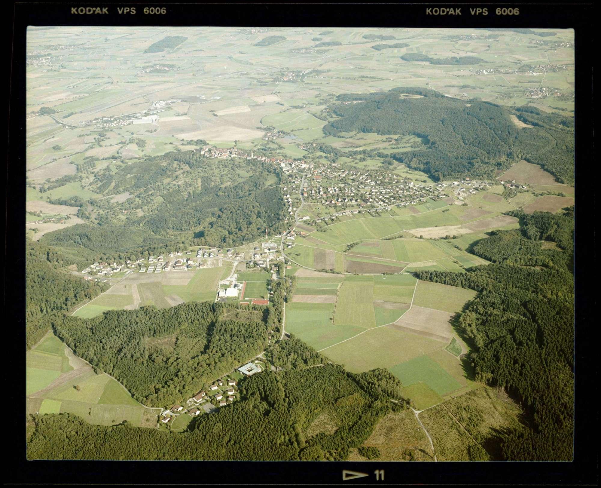 Waldenburg, Luftbild, Bild 1