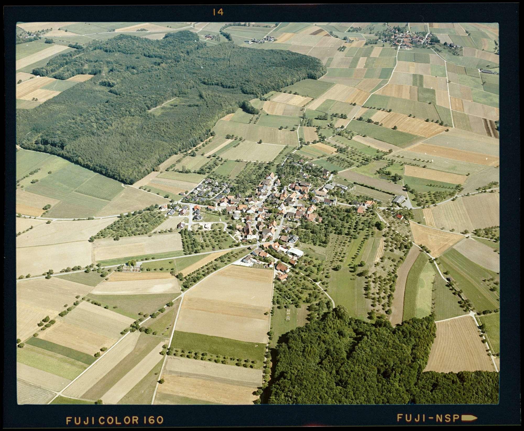 Schlatt am Randen, Luftbild, Bild 1