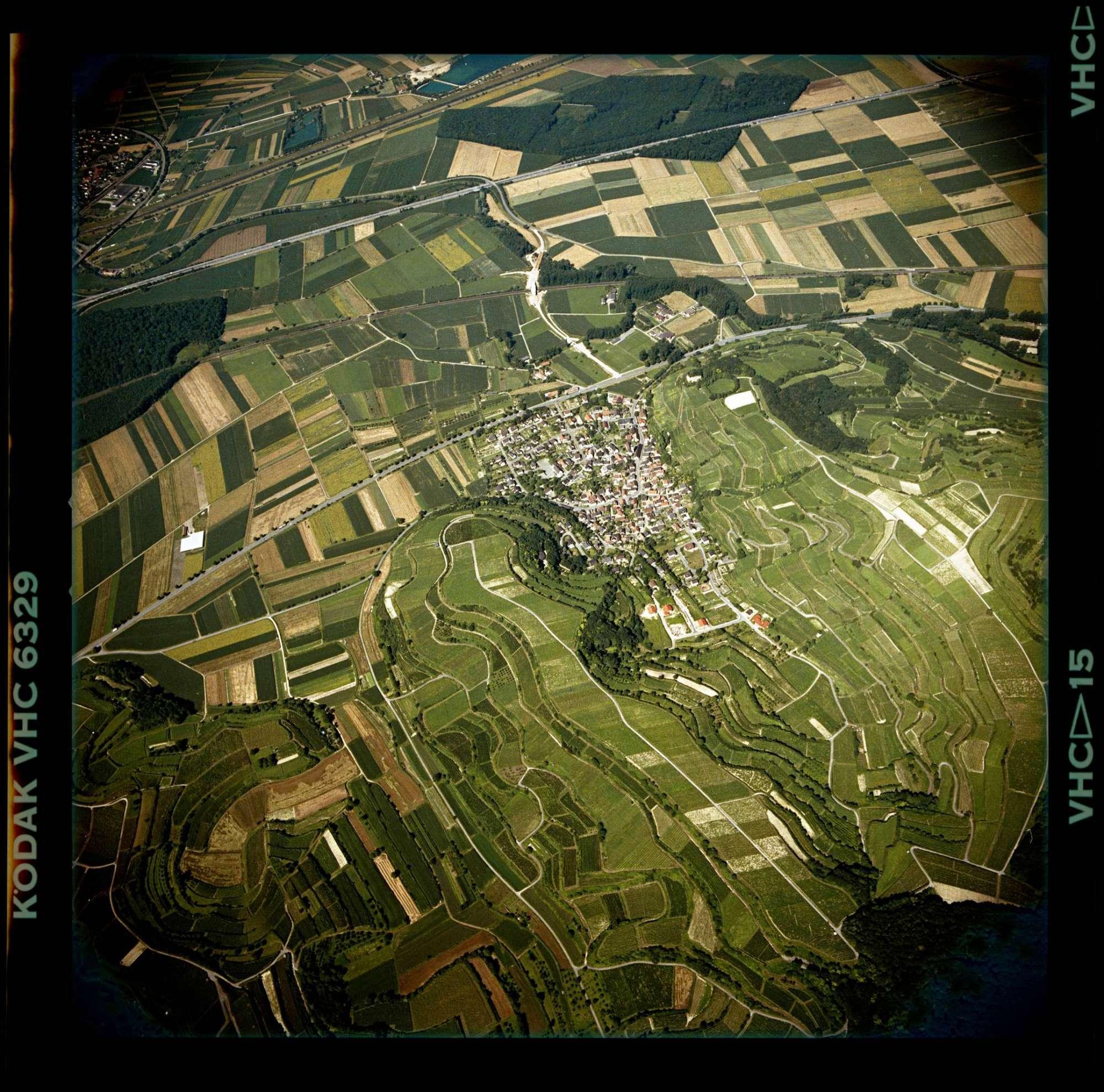 Hecklingen, Luftbild, Bild 1
