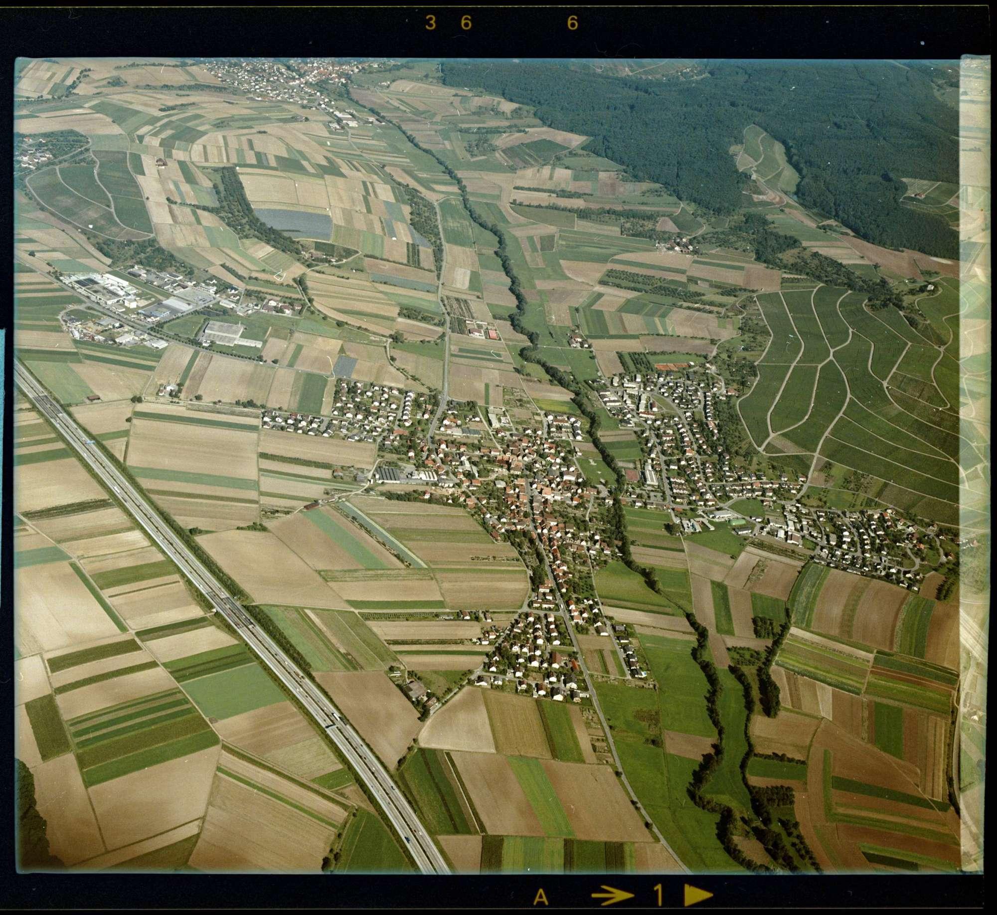 Abstatt, Luftbild, Bild 1