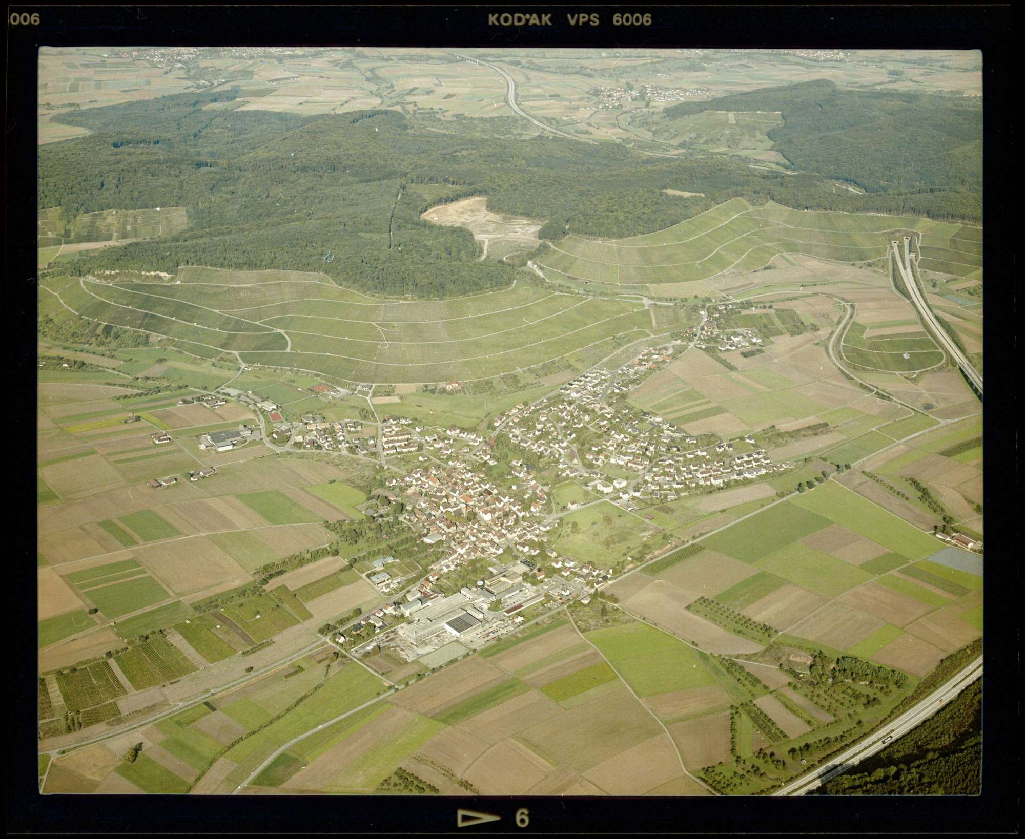 Eberstadt, Luftbild, Bild 1