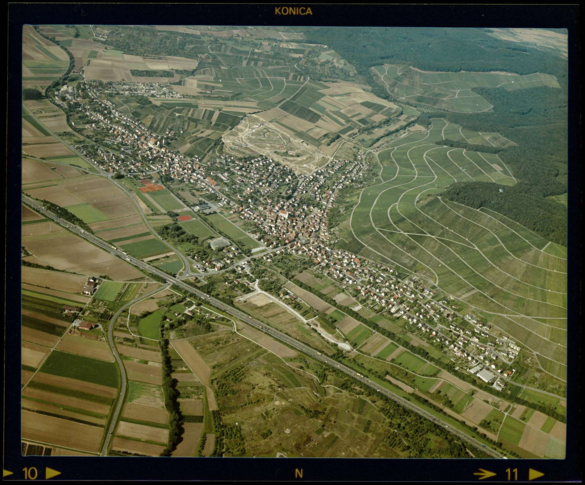 Erlenbach, Luftbild, Bild 1